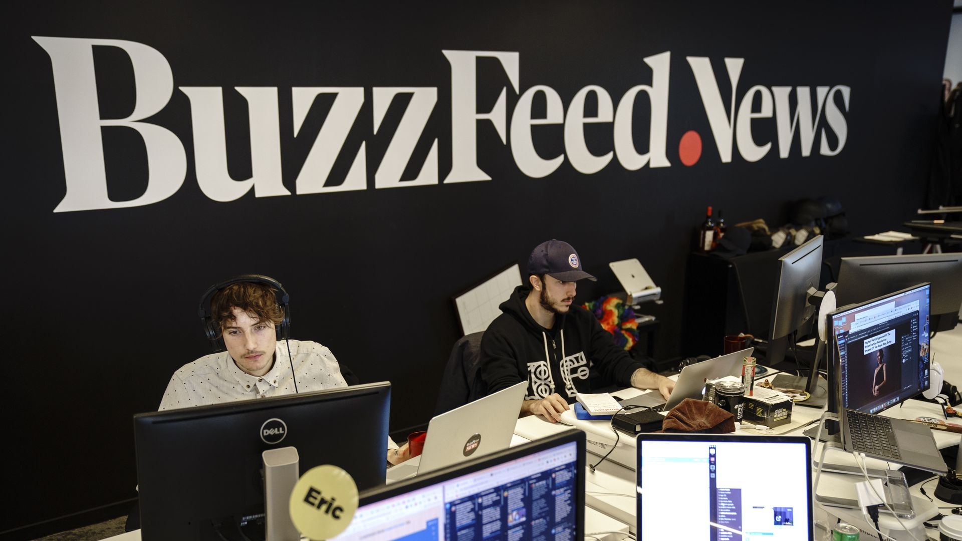 Employees working at BuzzFeed