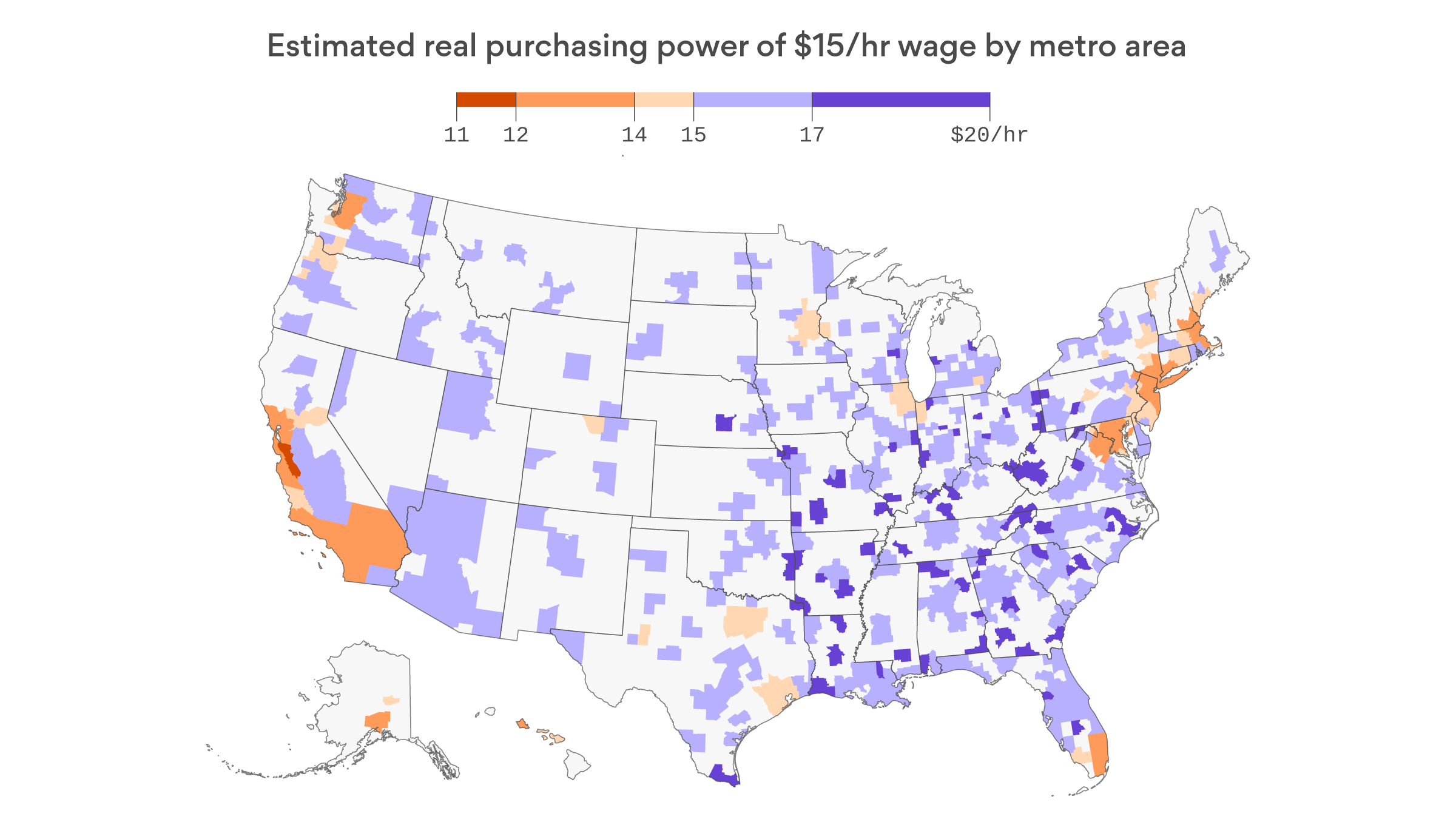Why $15 an hour has drawbacks of its own - Axios