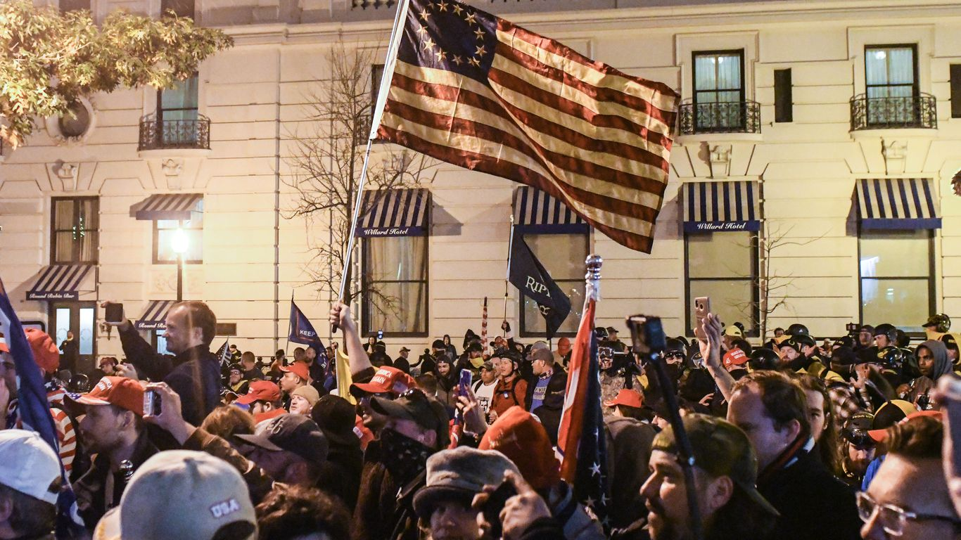 Protesters clash in D.C. and Washington state after Trump rallies
