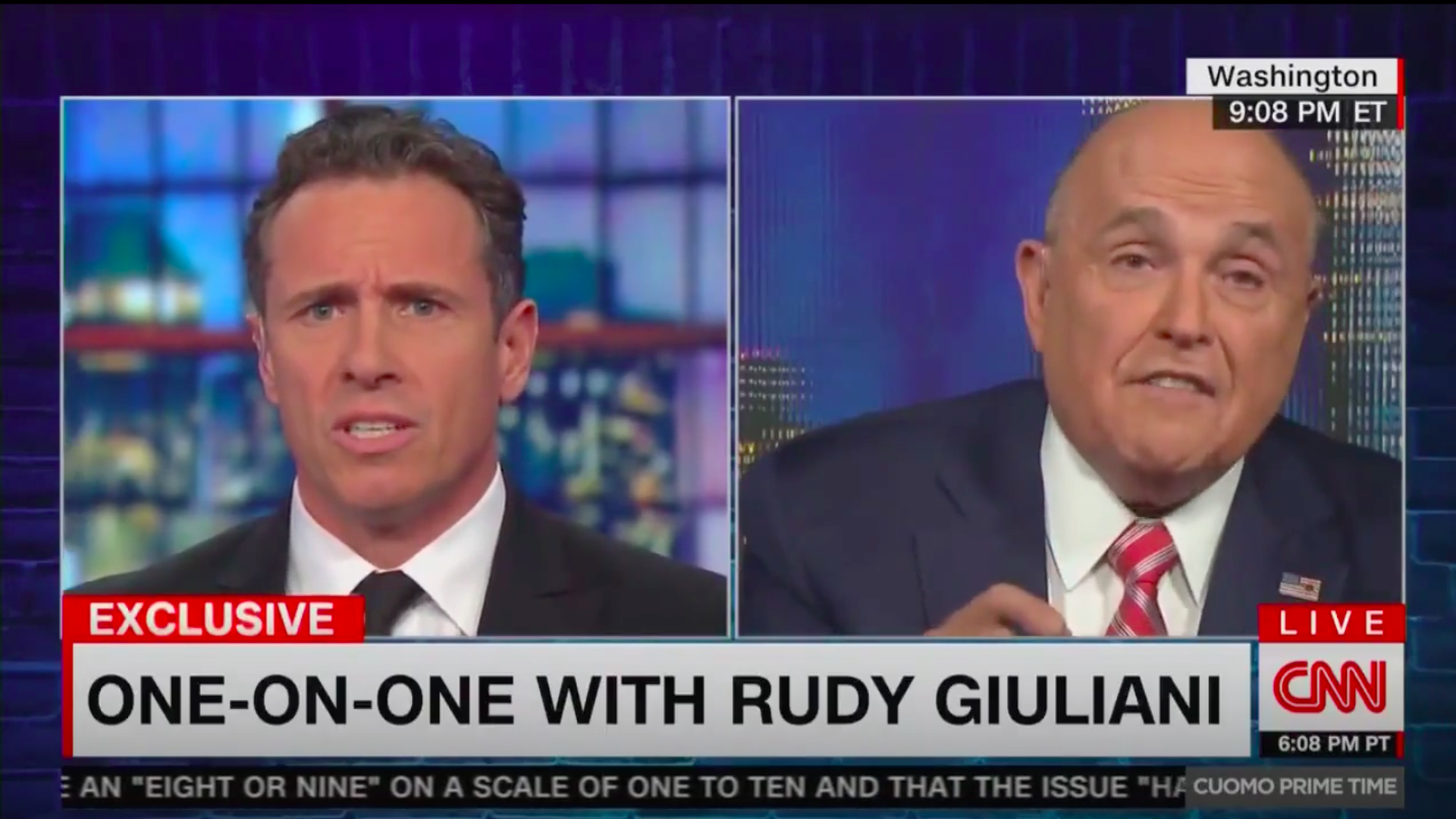 "Giuliani: ""I never said there was no collusion between the campaign"""
