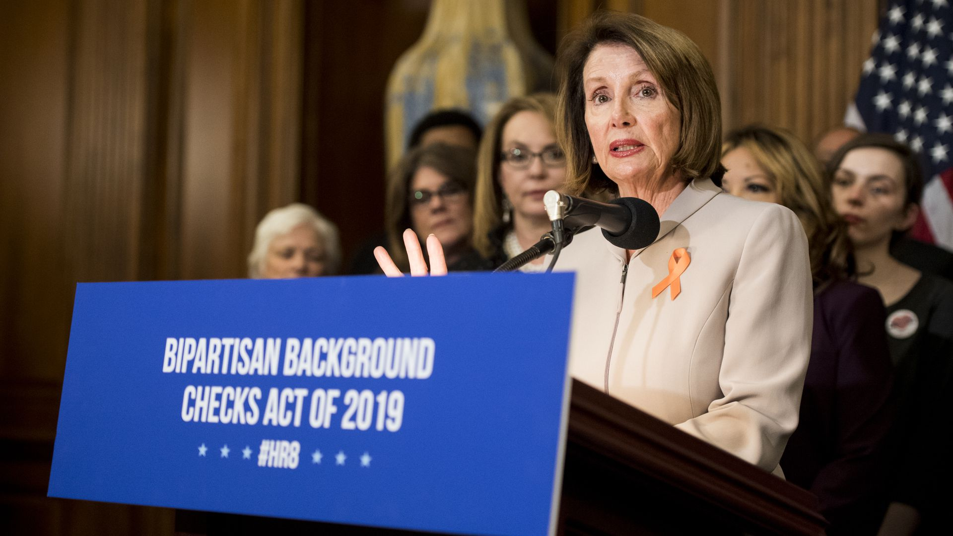 A Bipartisan Argument For Full Service >> House Passes Bill For Universal Background Checks Axios