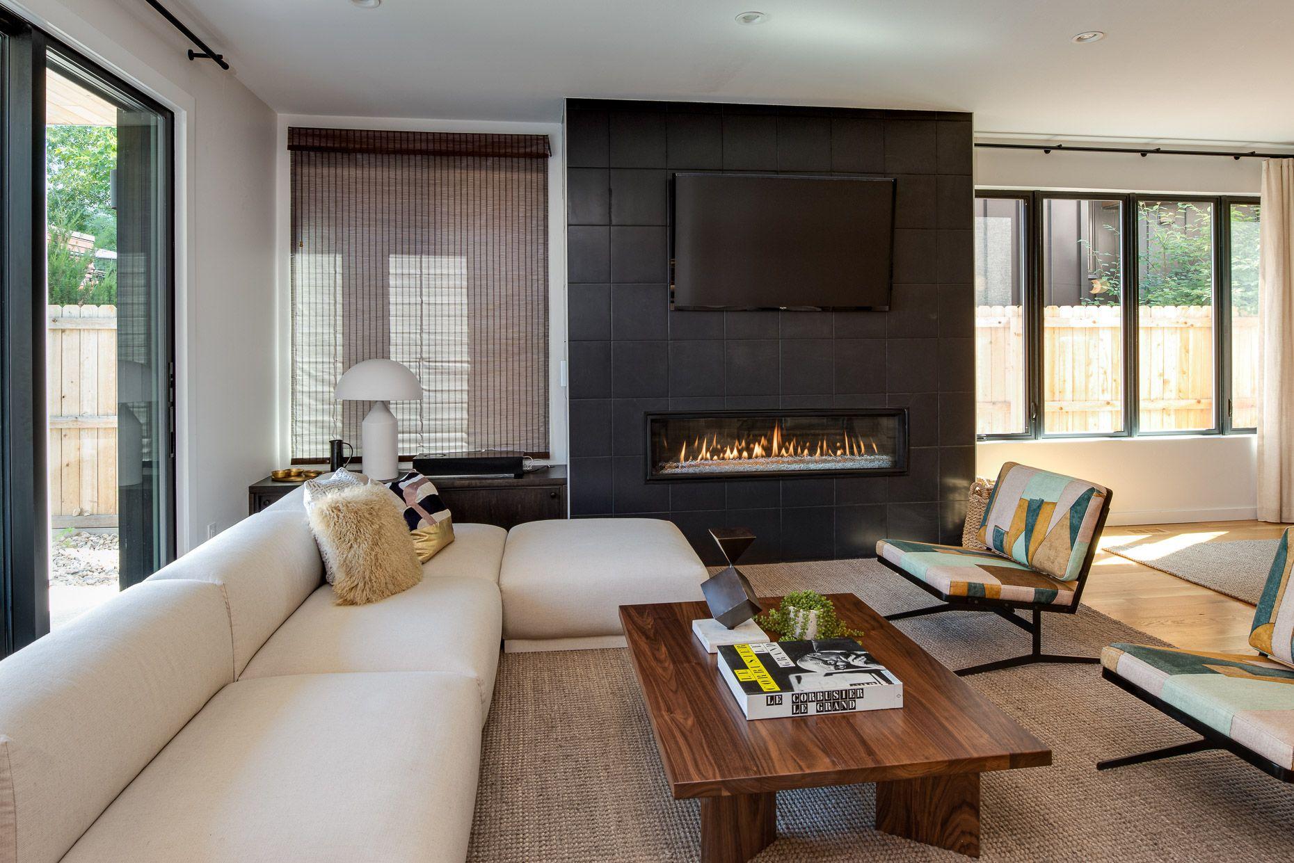 1724 S. Corona St.  living room