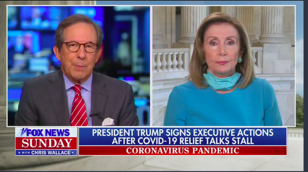"""Pelosi: """"States don't have the money"""" for Trump's unemployment order"""