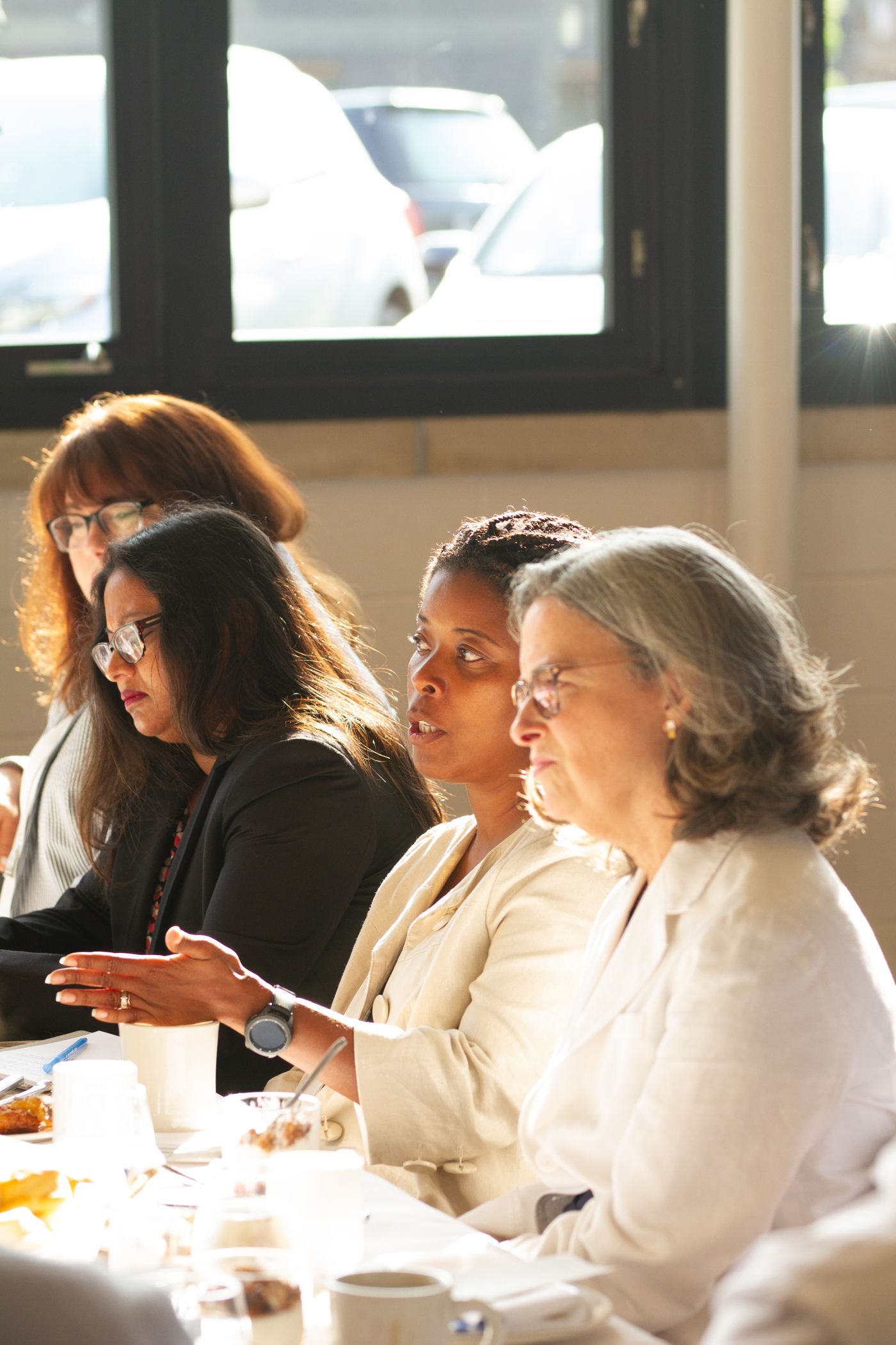 Katina Beard, CEO of Matthew Walker Health Center in conversation at the Axios roundtable.
