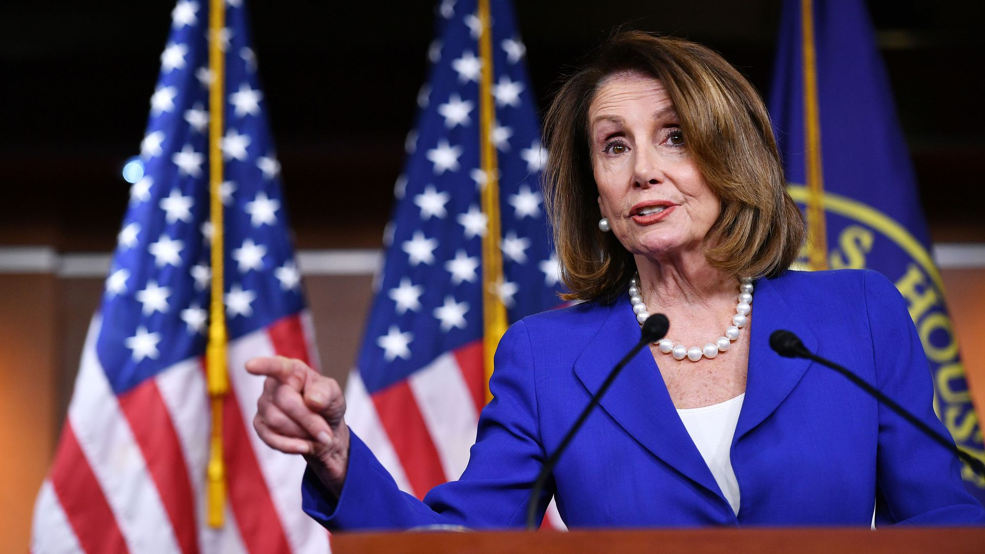 House Speaker Nancy Pelosi, (D-Calif.)