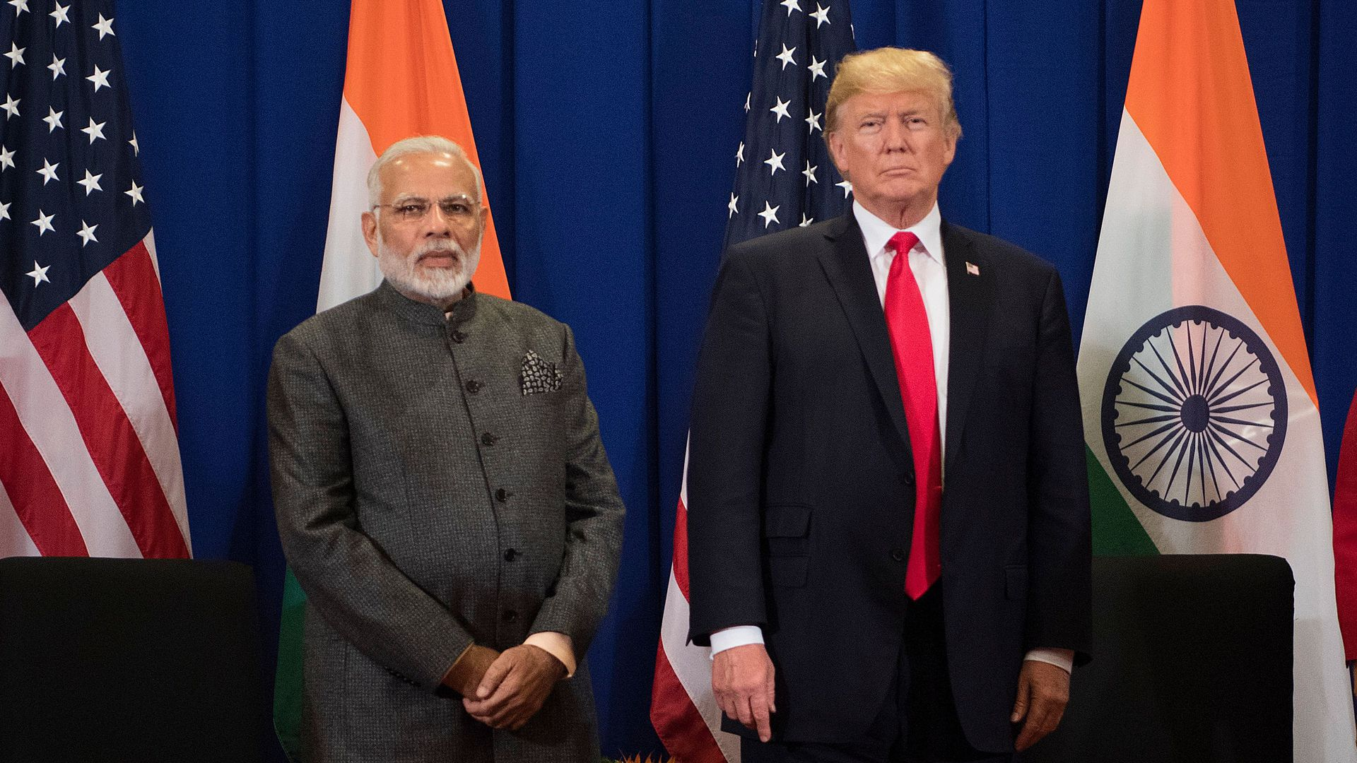 President Trump says Narendra Modi's India failed to assure the U.S. it'd provide reasonable access to its markets.