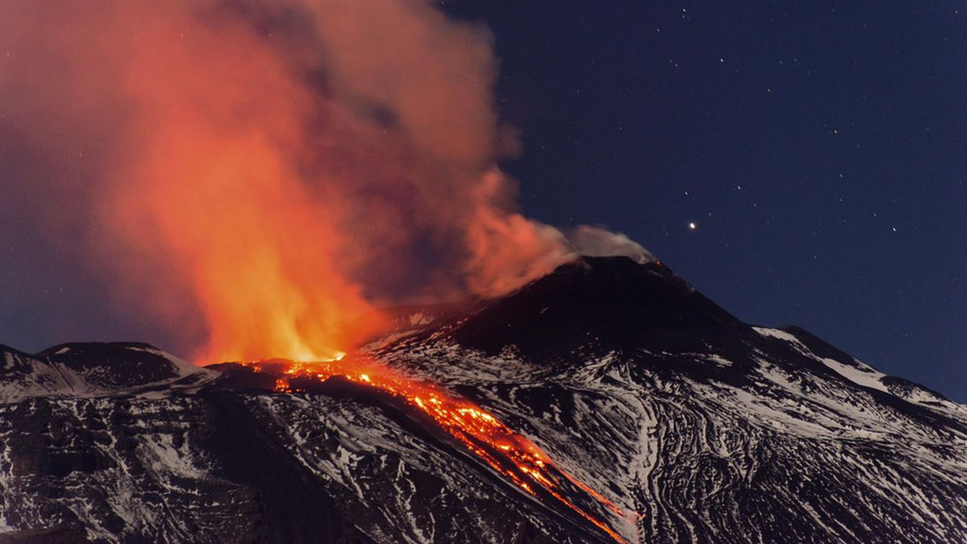Geologists find very hot lava flowed on Earth in recent times