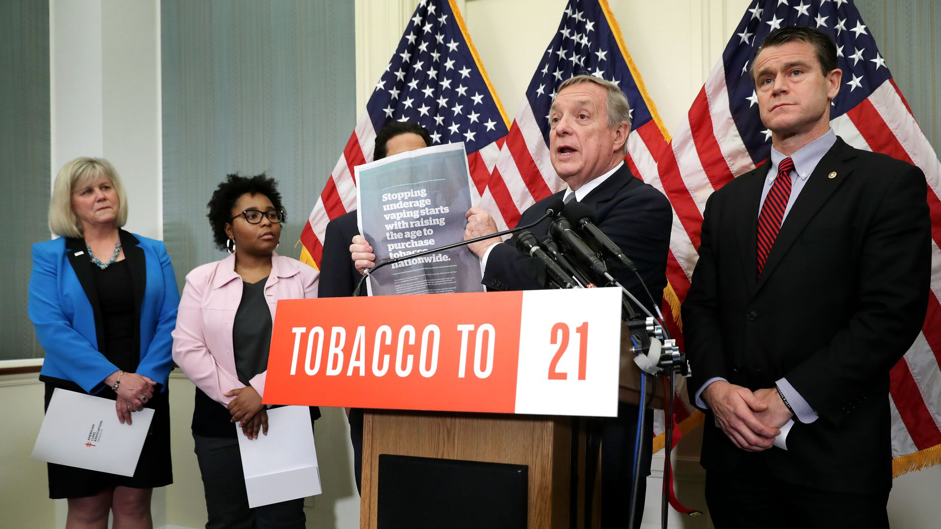 Democratic senator berates FDA commissioner over inaction around e-cigarettes