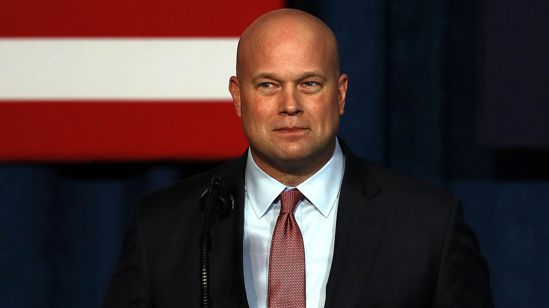 Acting Attorney General Matt Whitaker