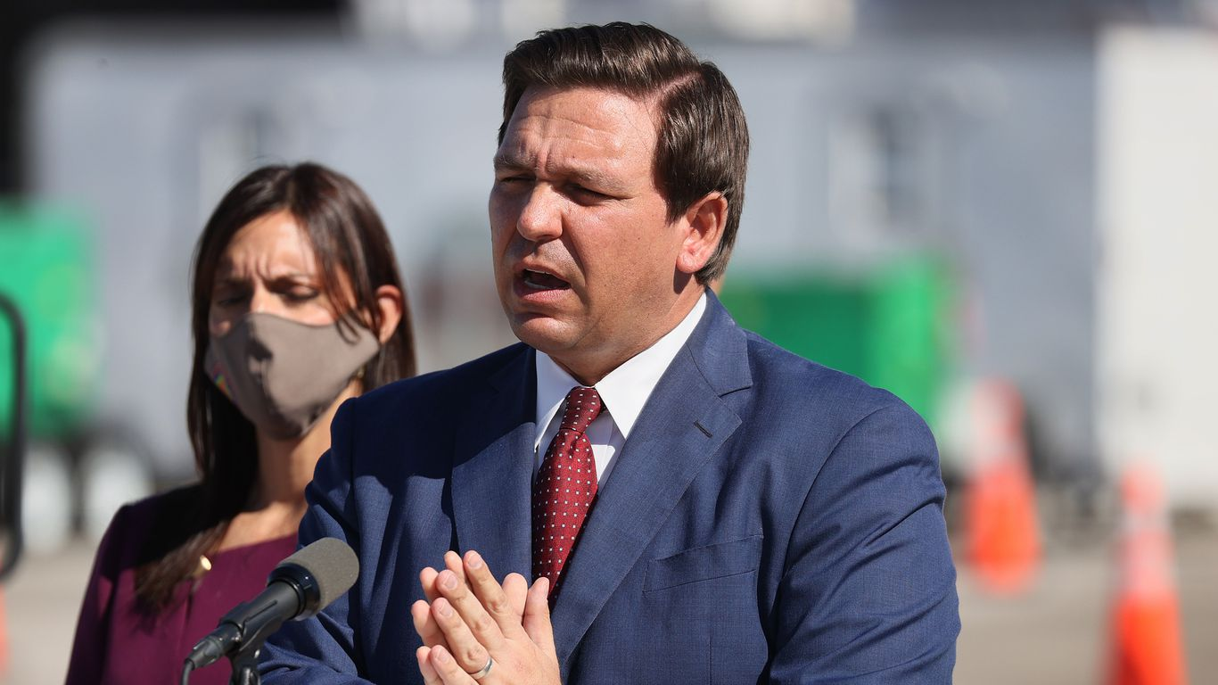 DeSantis announces new vaccine site after being accused of prioritizing wealthy white area