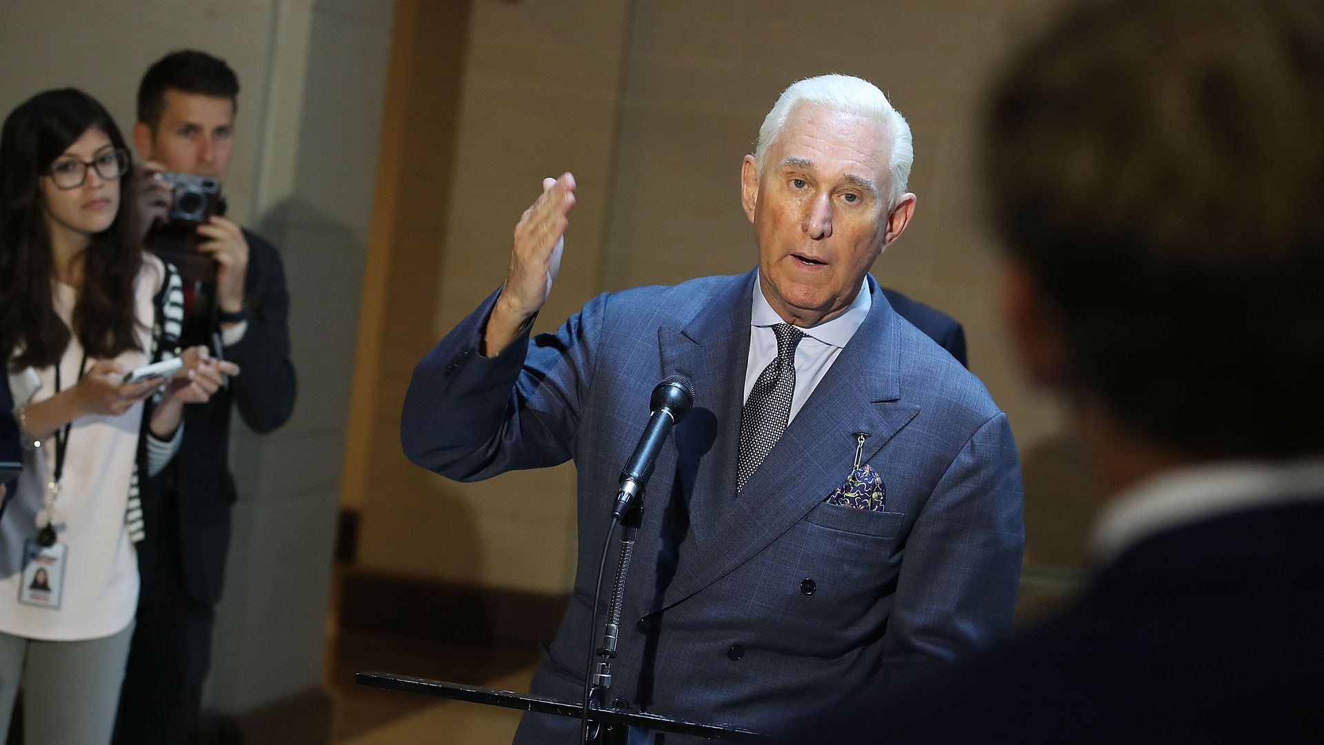 Roger Stone, former adviser and confidant to President Trump.
