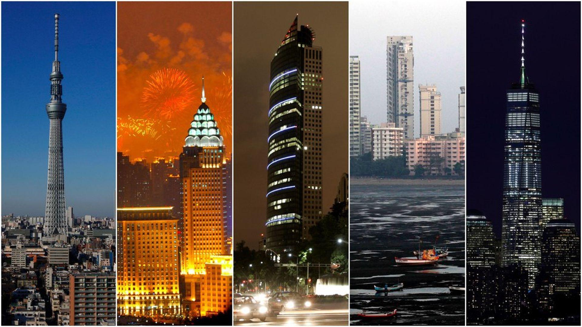 The global megacity boom - Axios