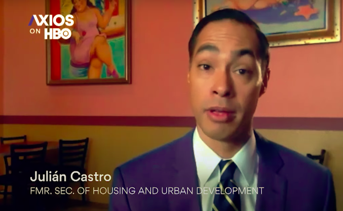 """Julian Castro warns of """"potential slide of Latino support for Democrats"""" thumbnail"""