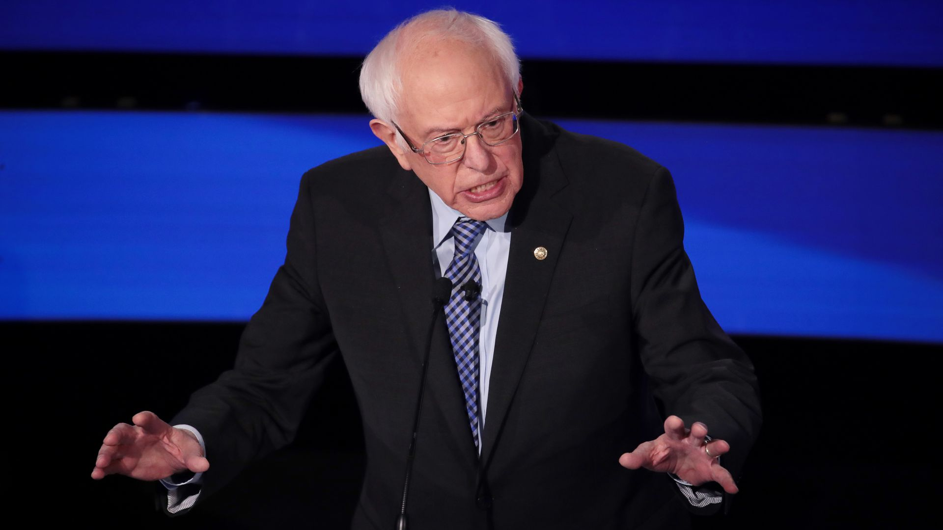 Sanders leads over Biden among Democratic candidates: CNN poll