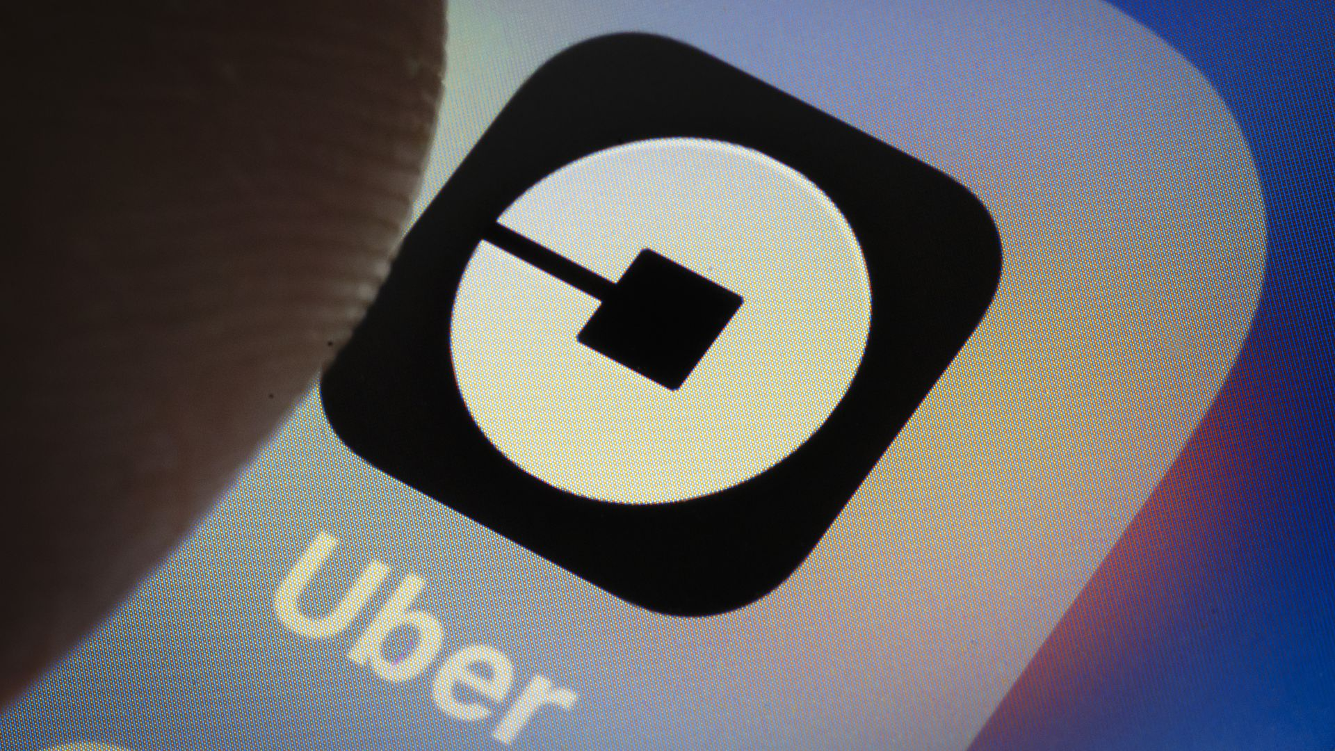 Photo of Uber's mobile app icon.