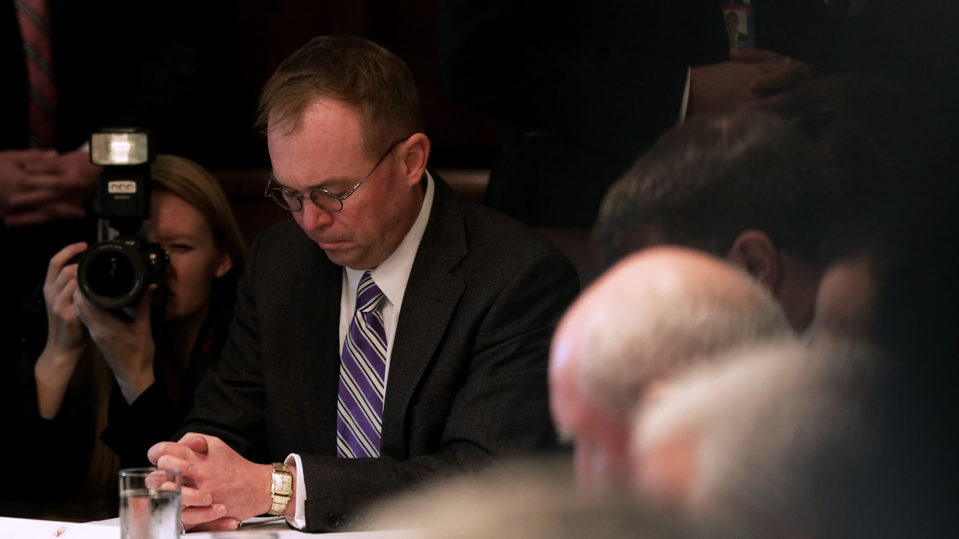Conservative leaders to send White House letter in support of Mulvaney