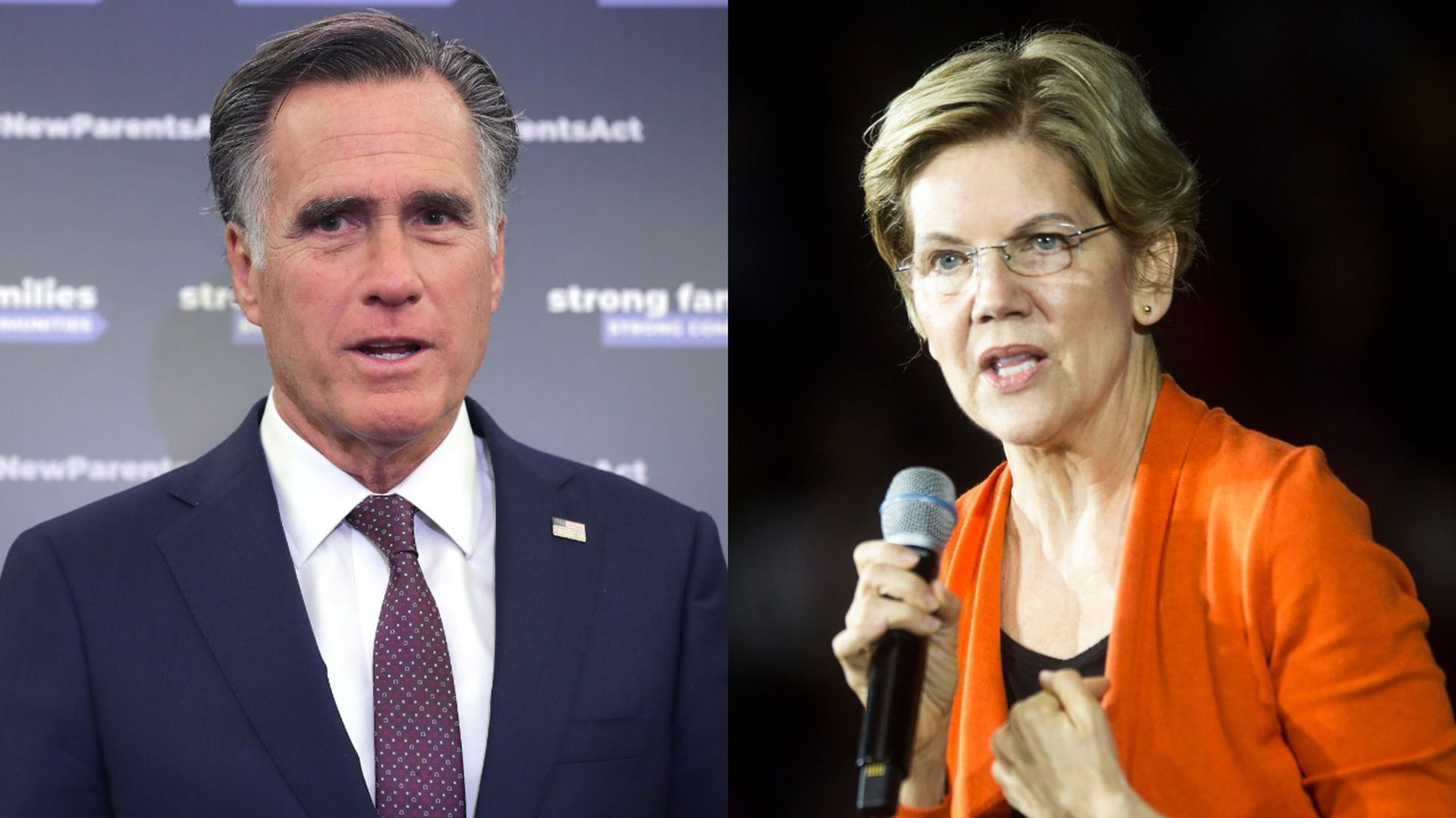 Mitt Romney: Republicans keep quiet on Trump because they fear Elizabeth Warren