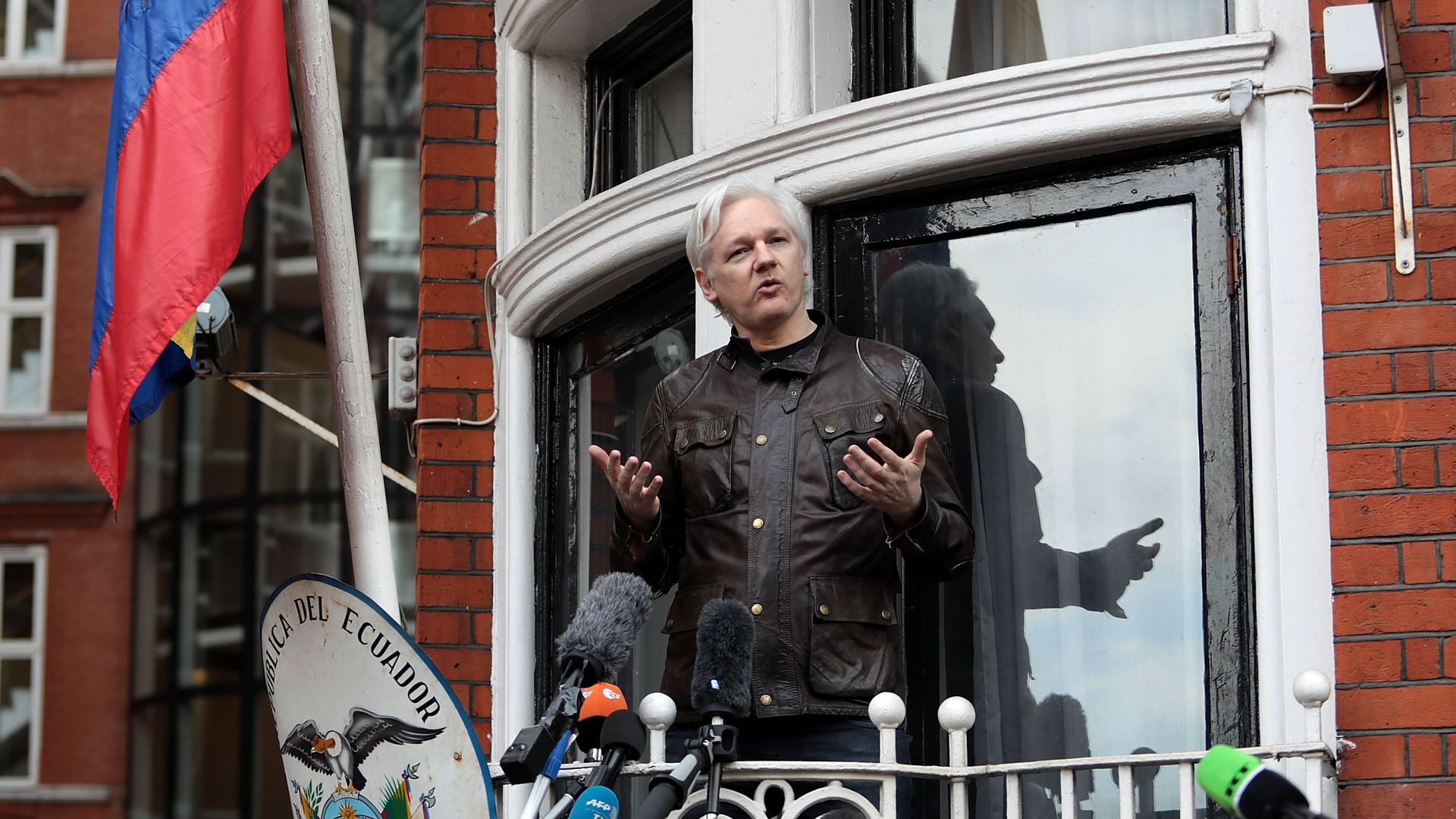 This is Julian Assange