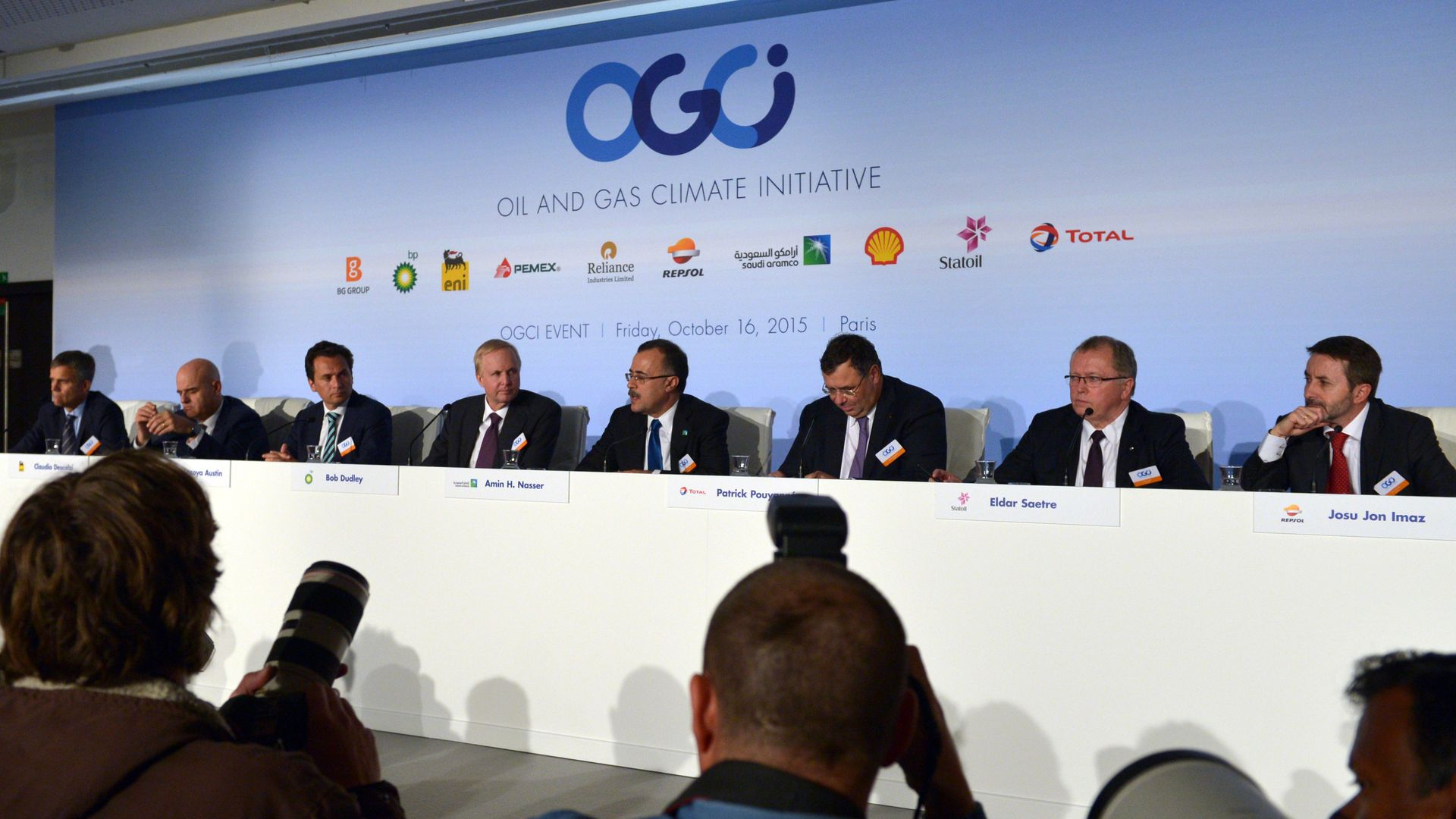 Executives at OGCI panel