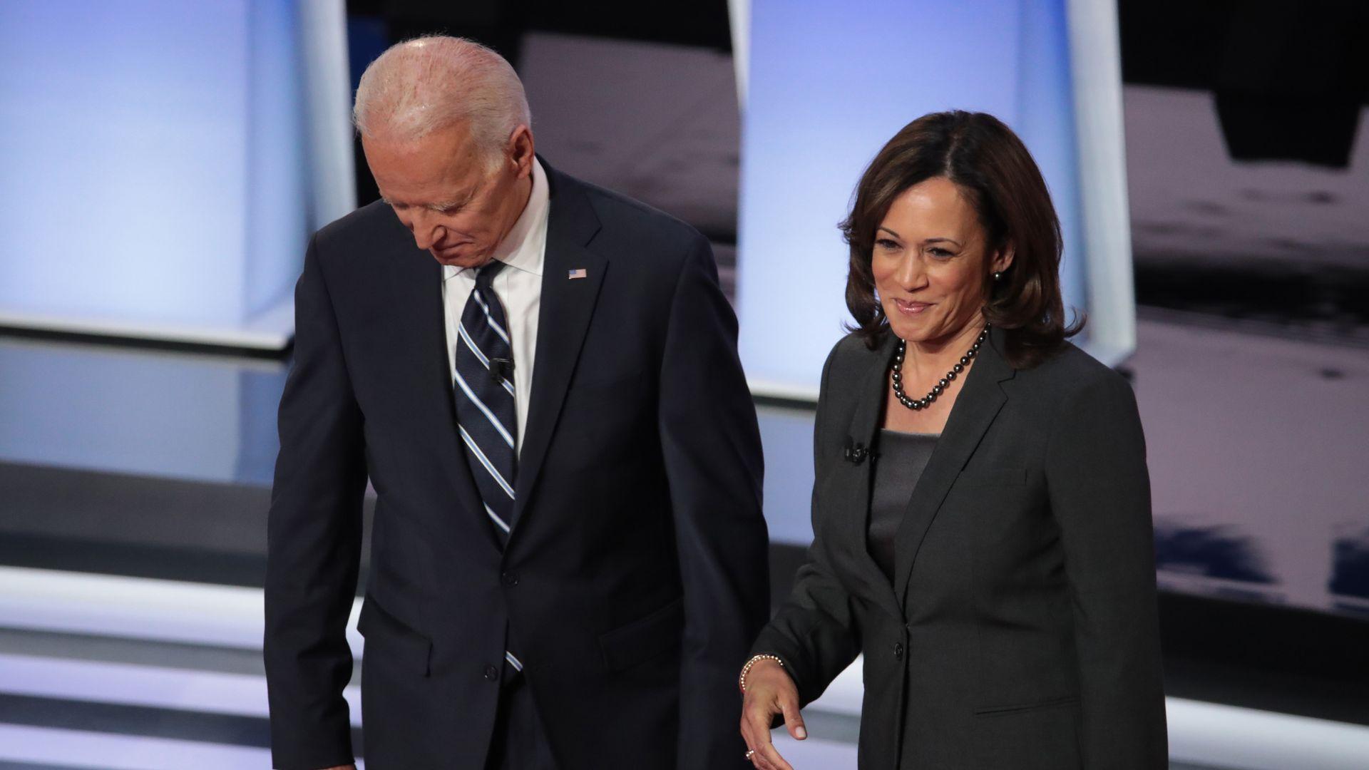 Kamala Harris Endorses Joe Biden Axios