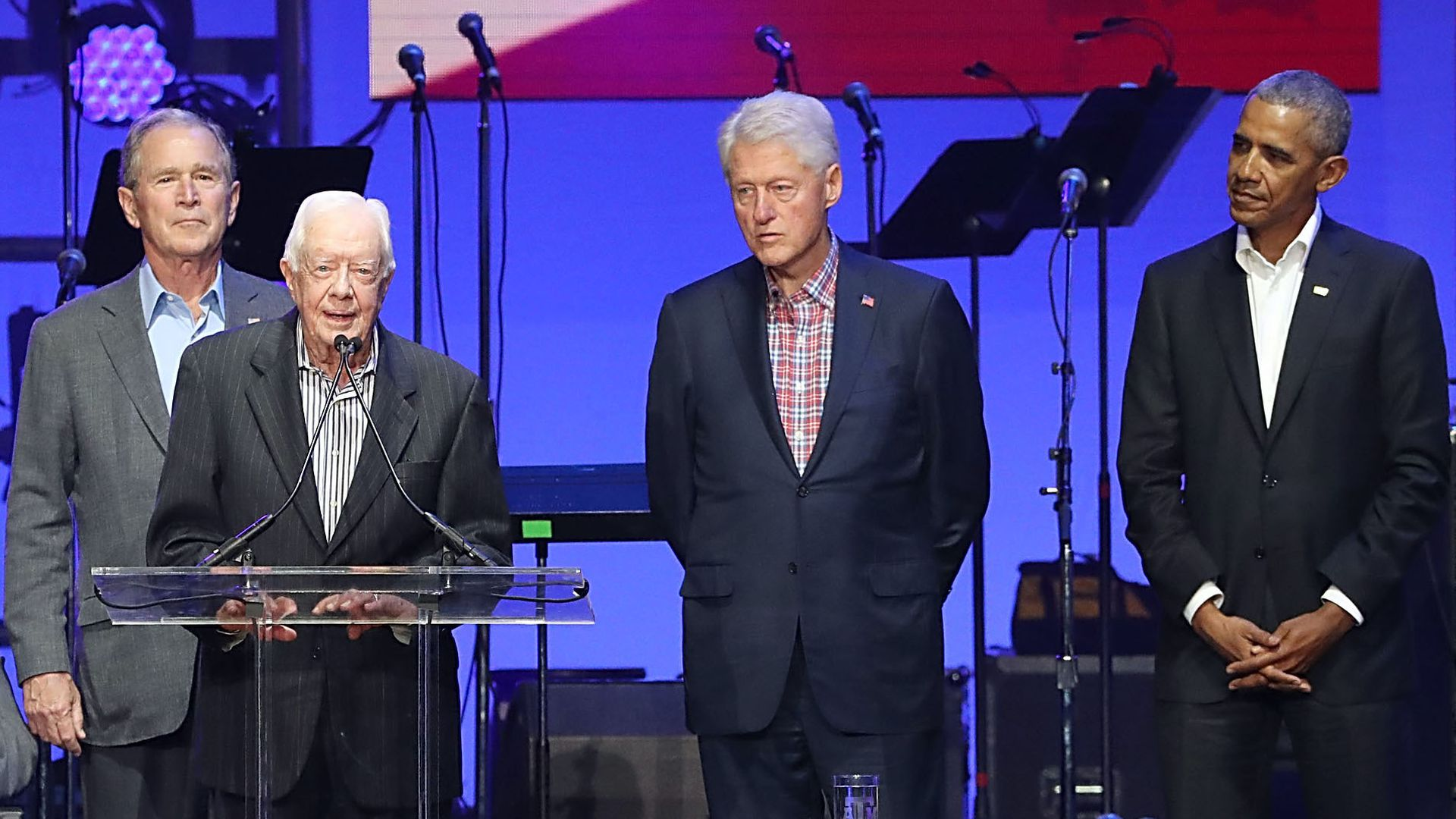 Obama, Carter, Bush, Bill Clinton slam U.S. Capitol insurrection - Axios