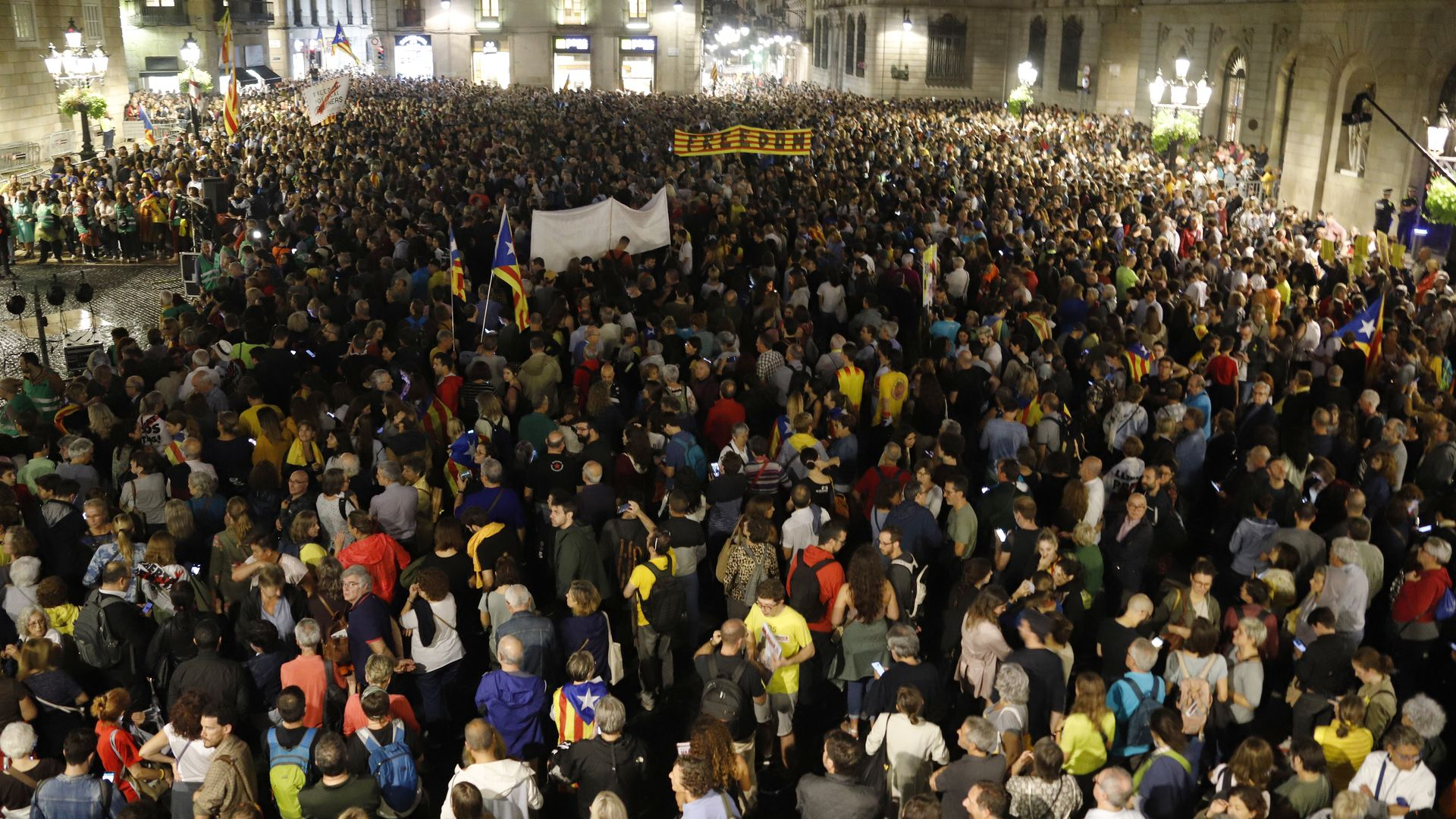 3. Europe: Outrage in Catalonia over verdict