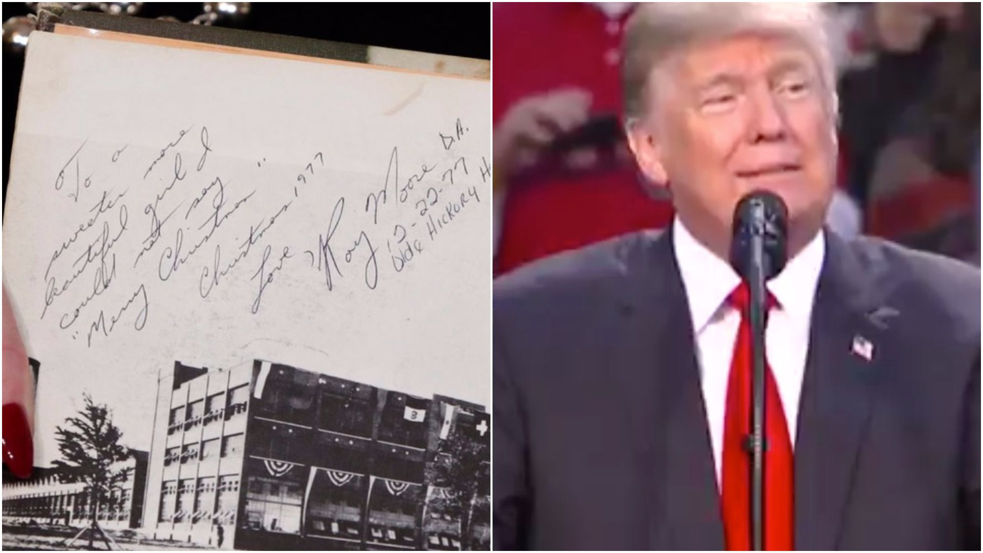Trump and the yearbook