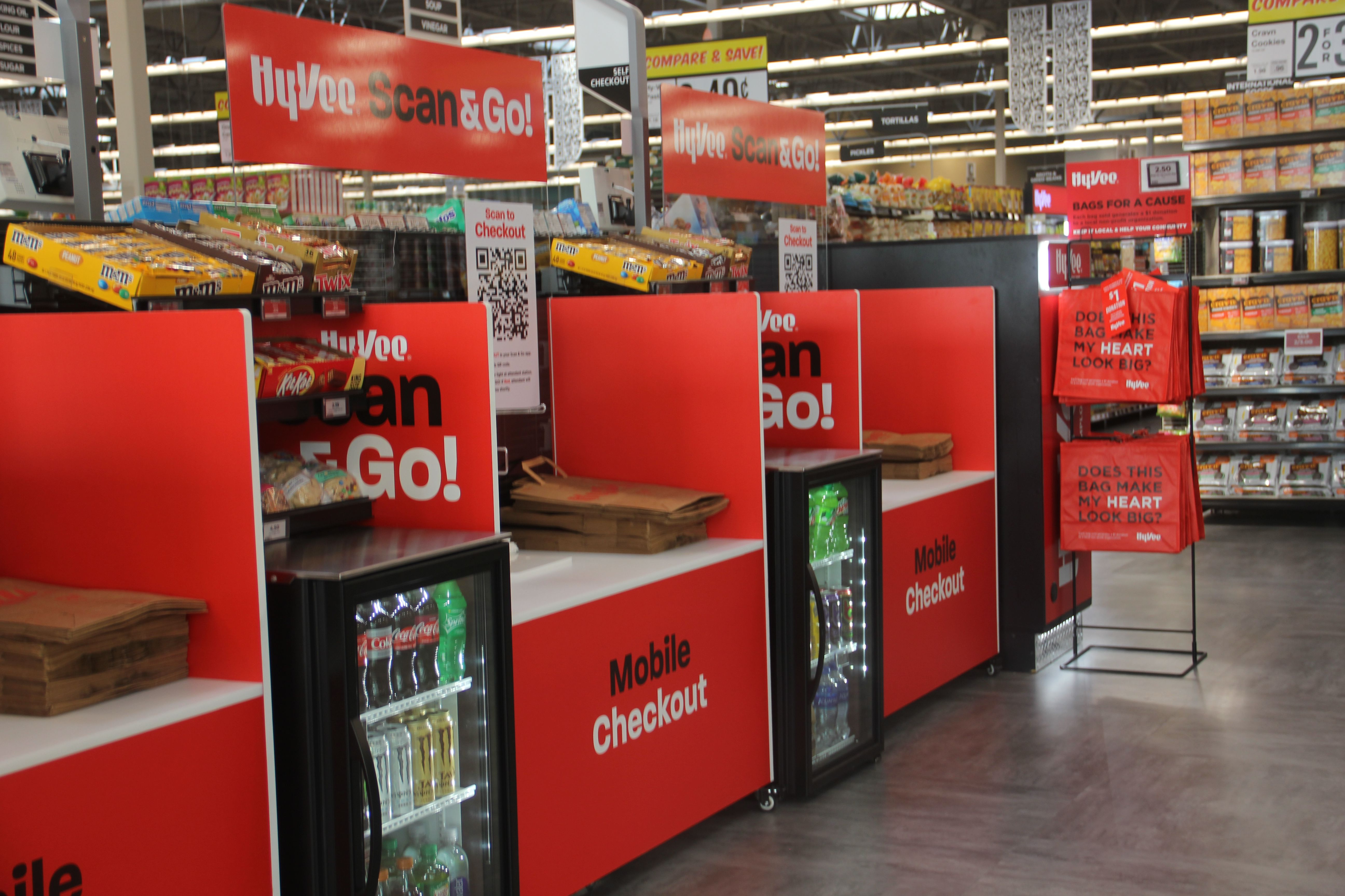 Hy-Vee Scan and Go