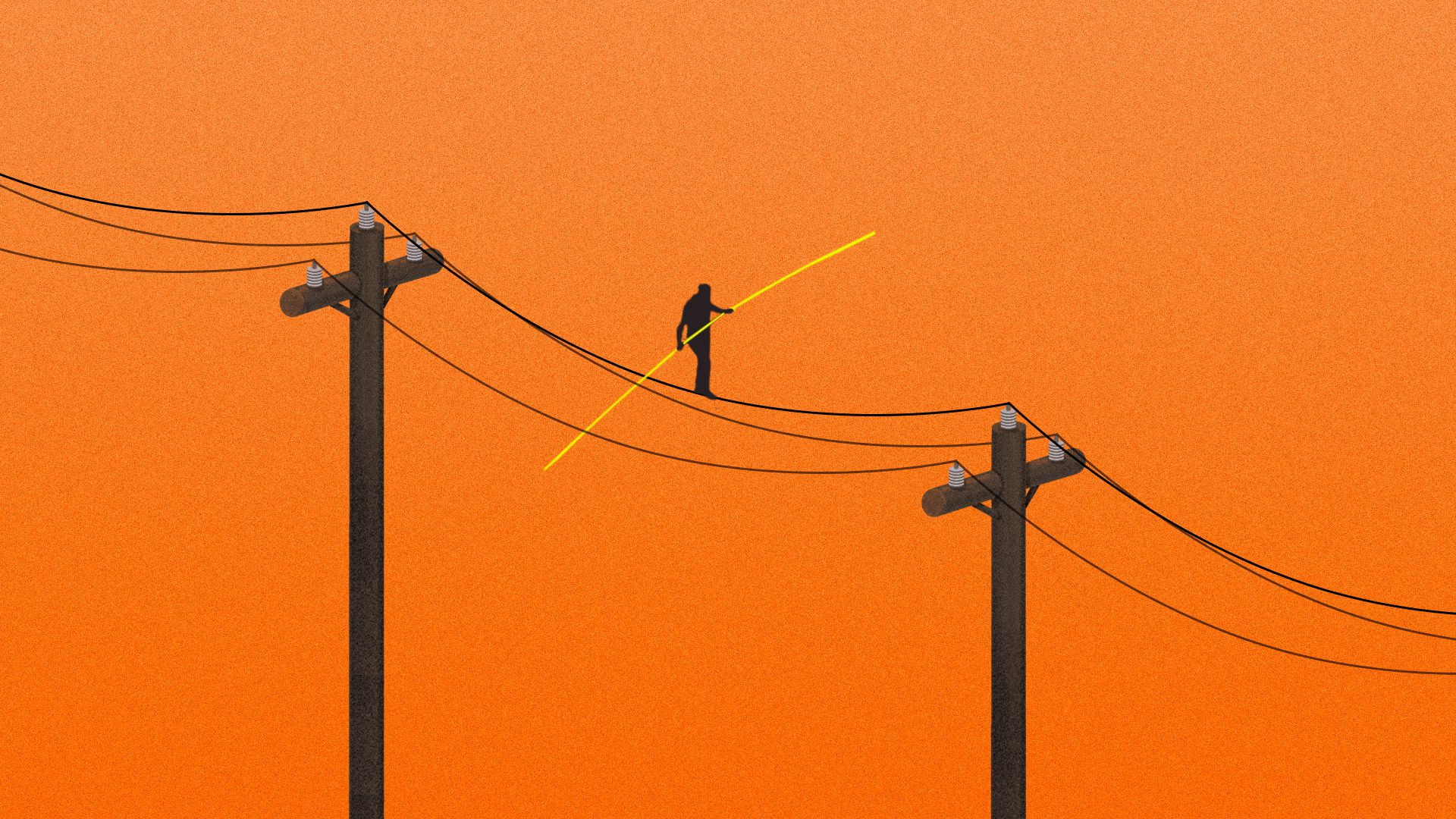 Illustration for column on energy risks