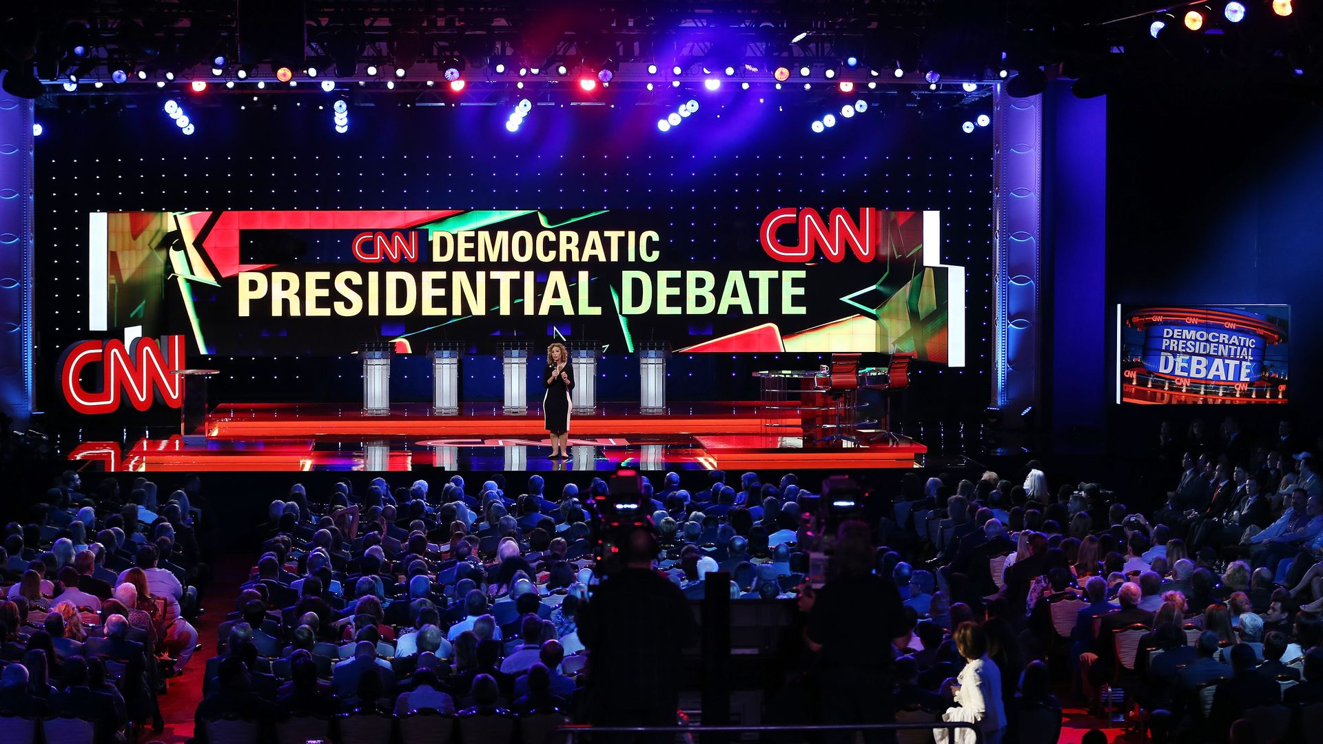 Democratic Party primary hosted by CNN