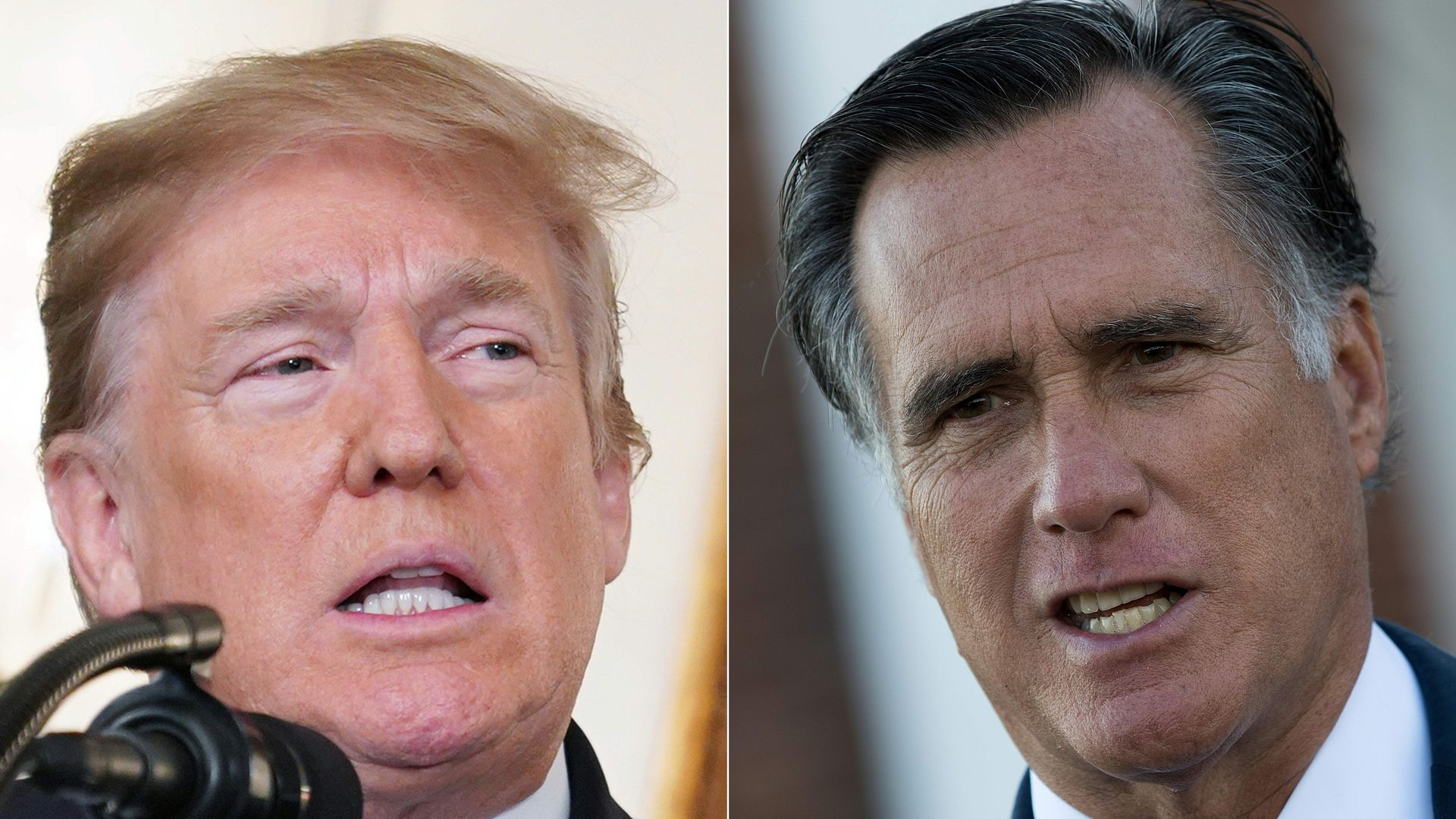 President Trump hit back at Mitt Romney for criticizing him over the Mueller report.