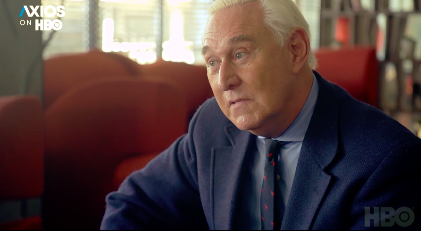 Roger Stone says he's still proud of his efforts to elect Trump