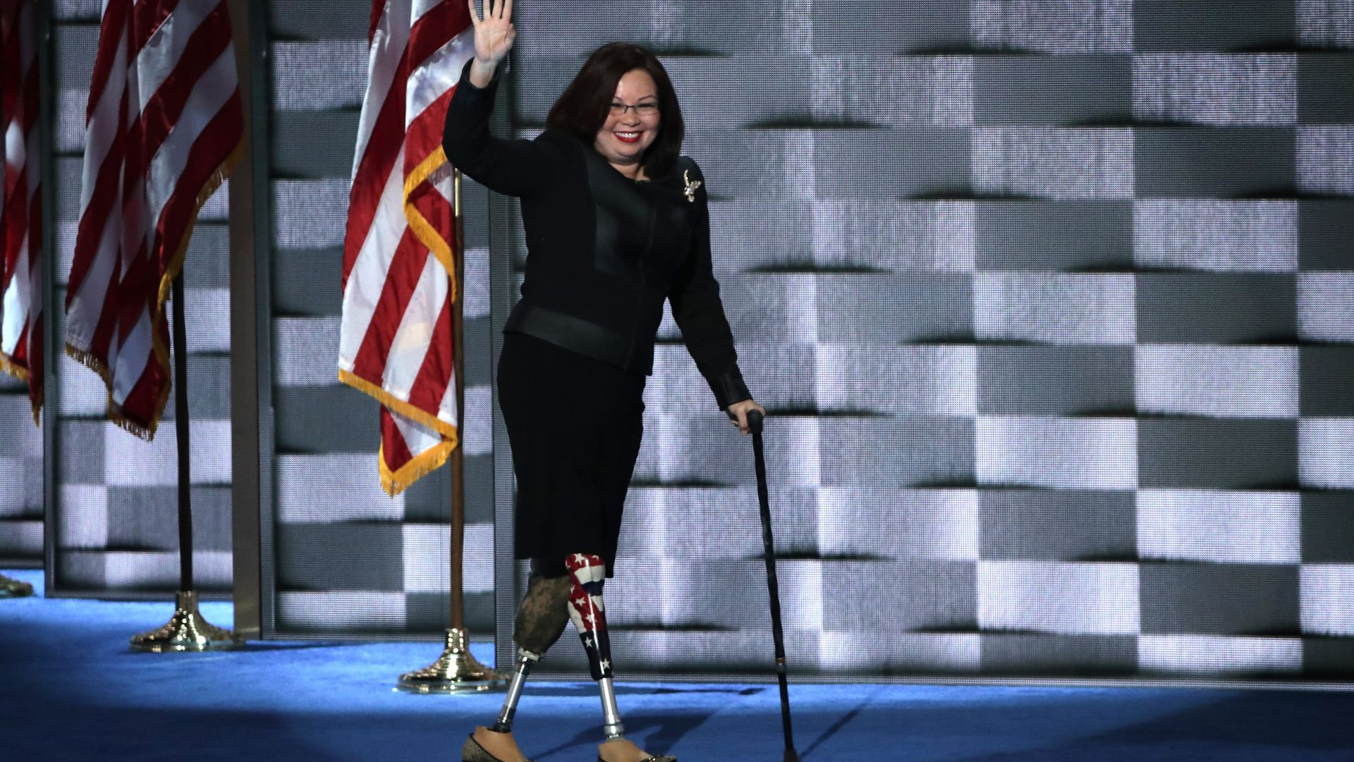 Sen. Tammy Duckworth.