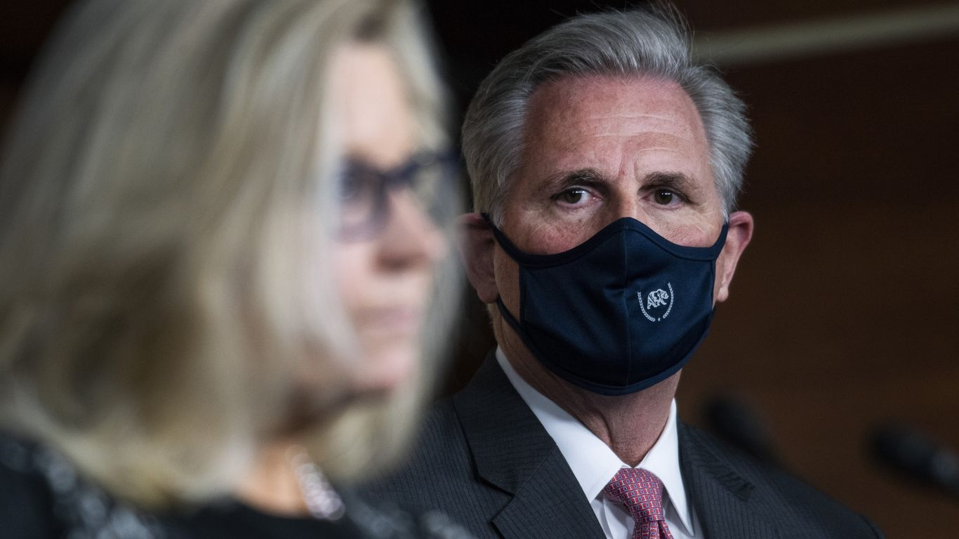 Republicans ignore McCarthy and name-drop anyway