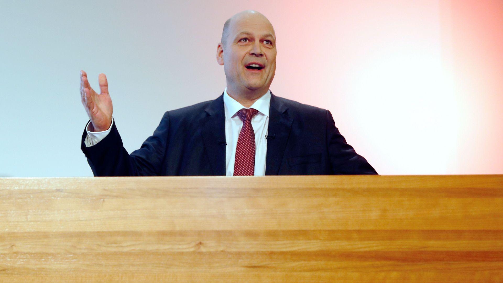 Novartis CFO Harry Kirsch