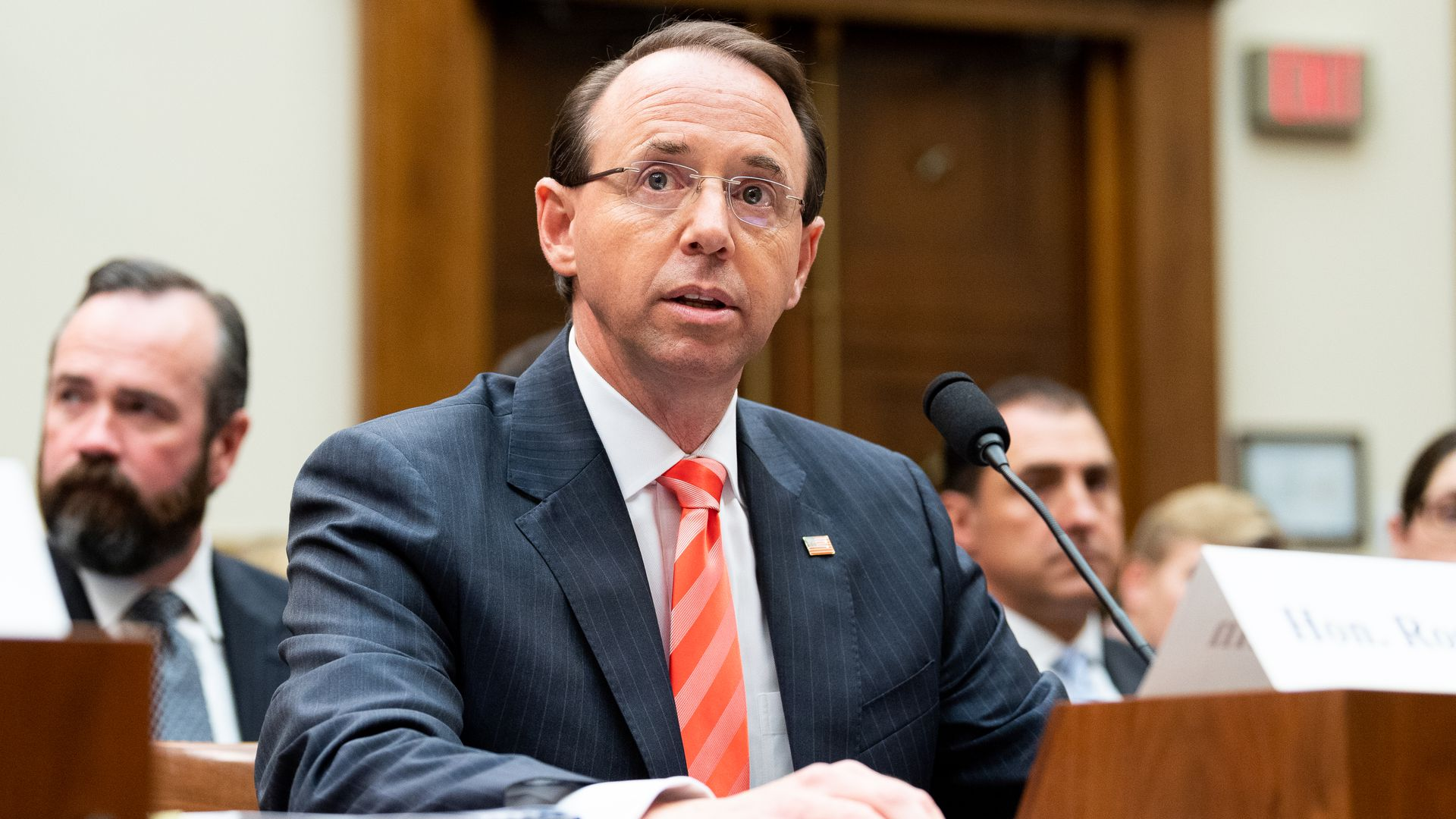 Rod Rosenstein, Deputy Attorney General. Photo: Michael Brochstein/SOPA Images/LightRocket via Getty Images