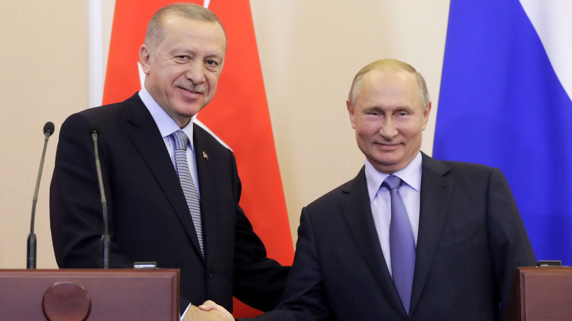 Russia and Turkey capitalize on America's Syria exit