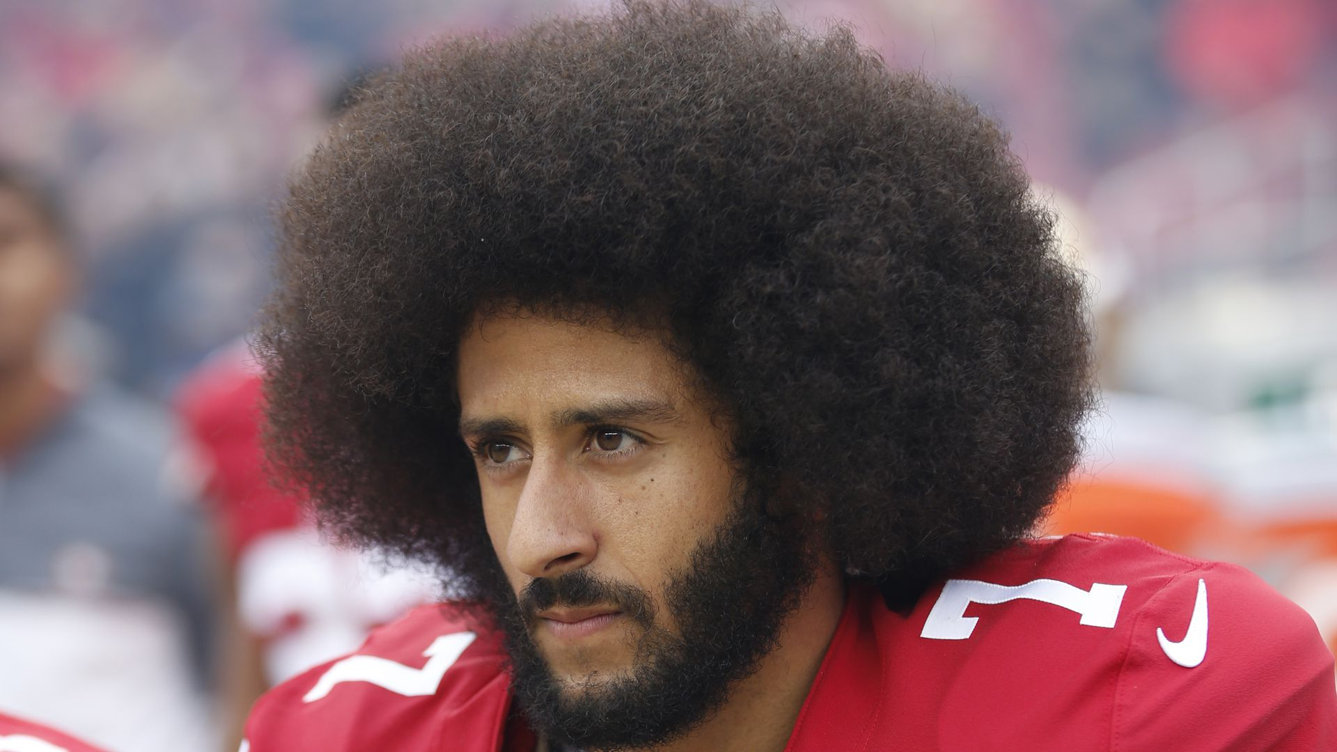 Photo of Colin Kaepernick.