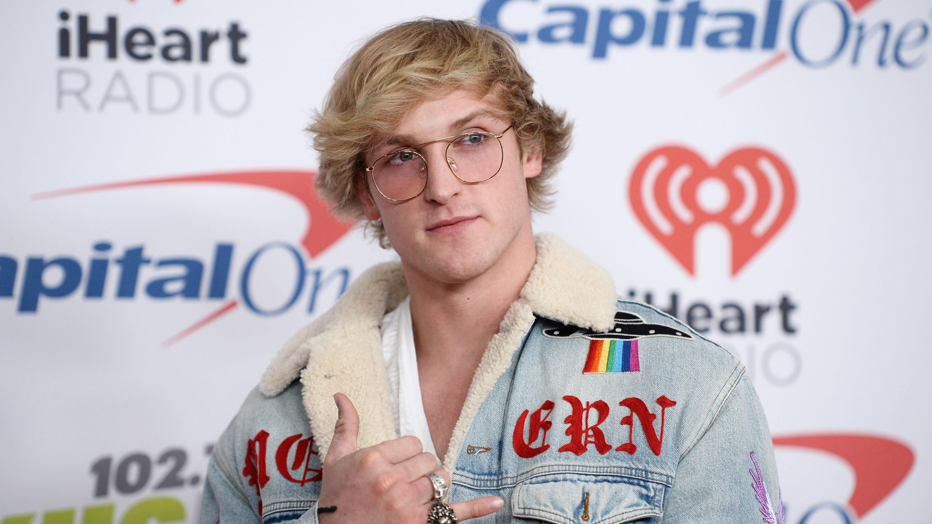 Logan Paul at an event