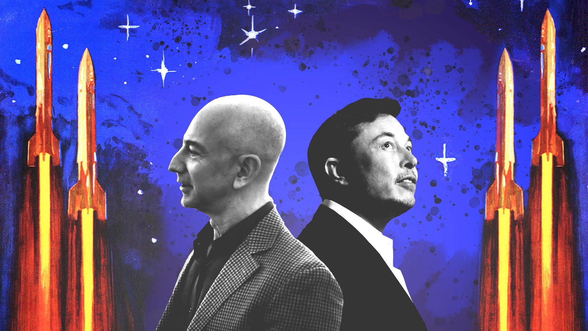 Jeff Bezos and Elon Musk eye the next phase of their space age rivalry