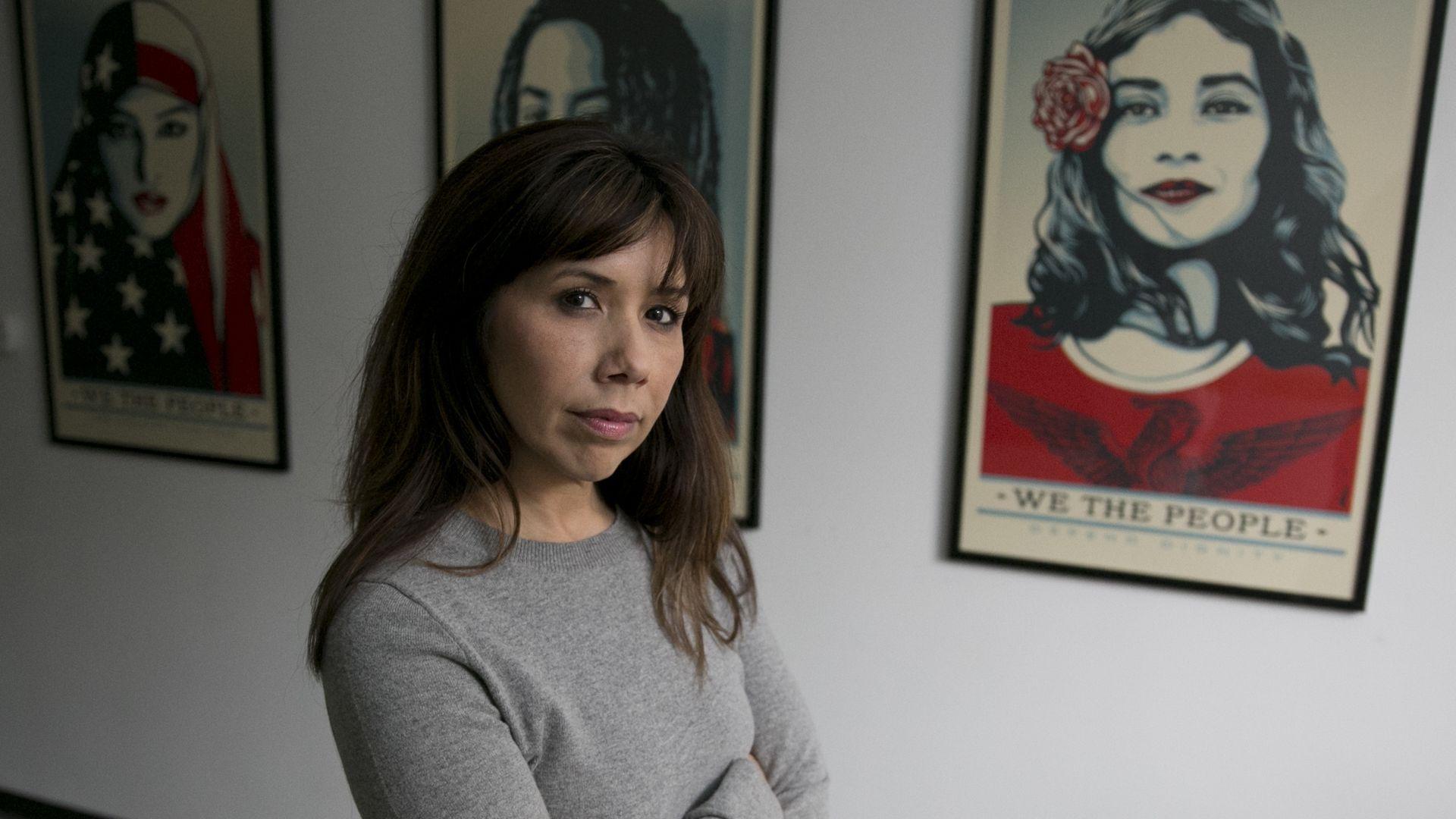 Jodi Hicks, a lobbyist and partner oath the women-led Sacramento firm, DBHK.