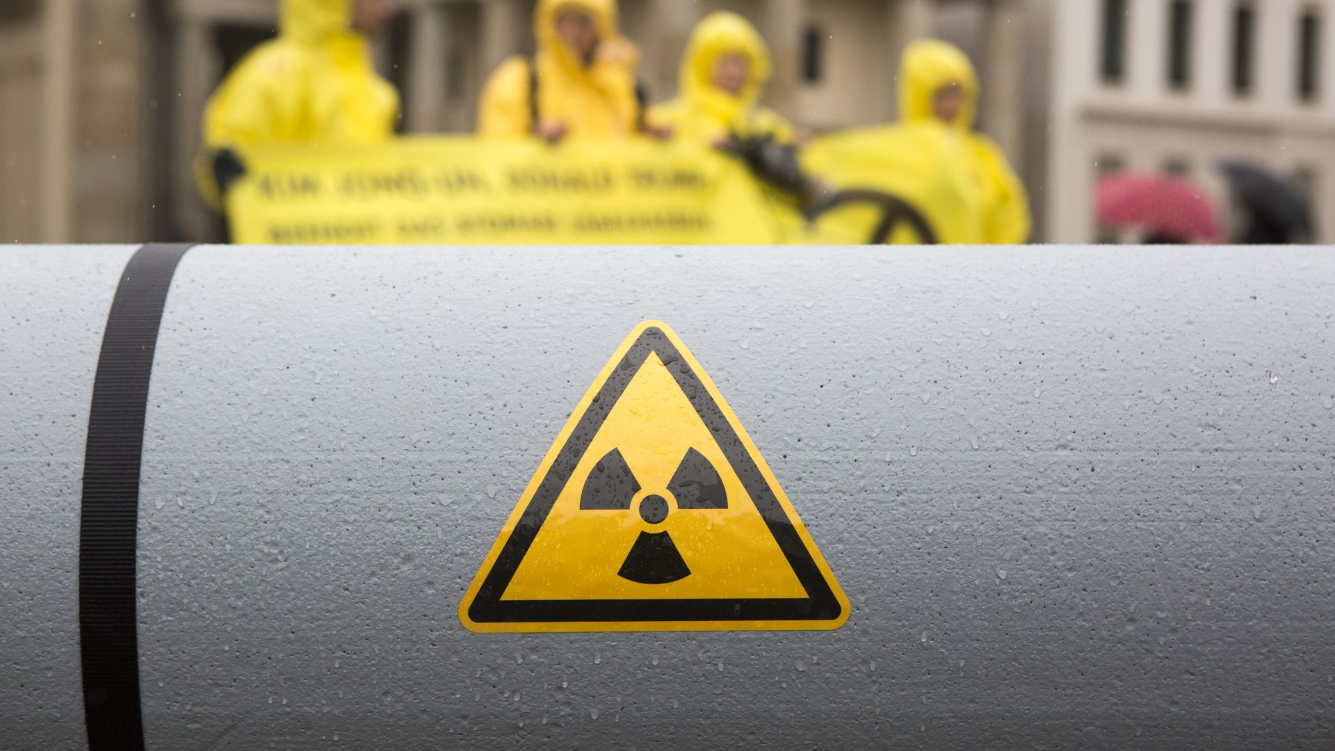 Anti-nuclear activists in Germany