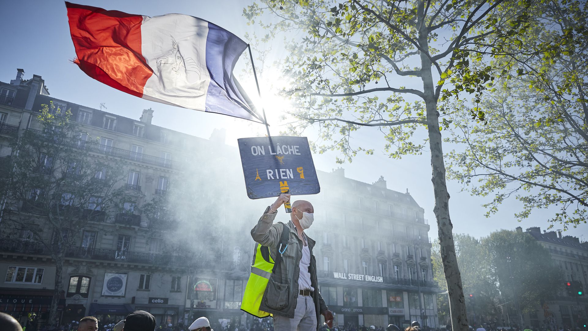 Protests engulf Paris a week after Notre Dame fire