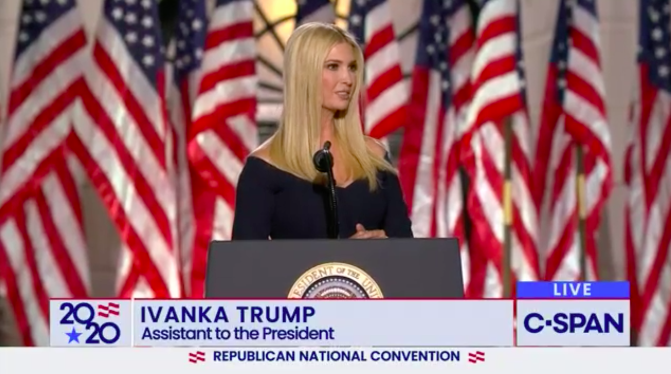 "Ivanka Trump says she's seen ""the pain"" in her father's eyes when he hears about COVID deaths thumbnail"