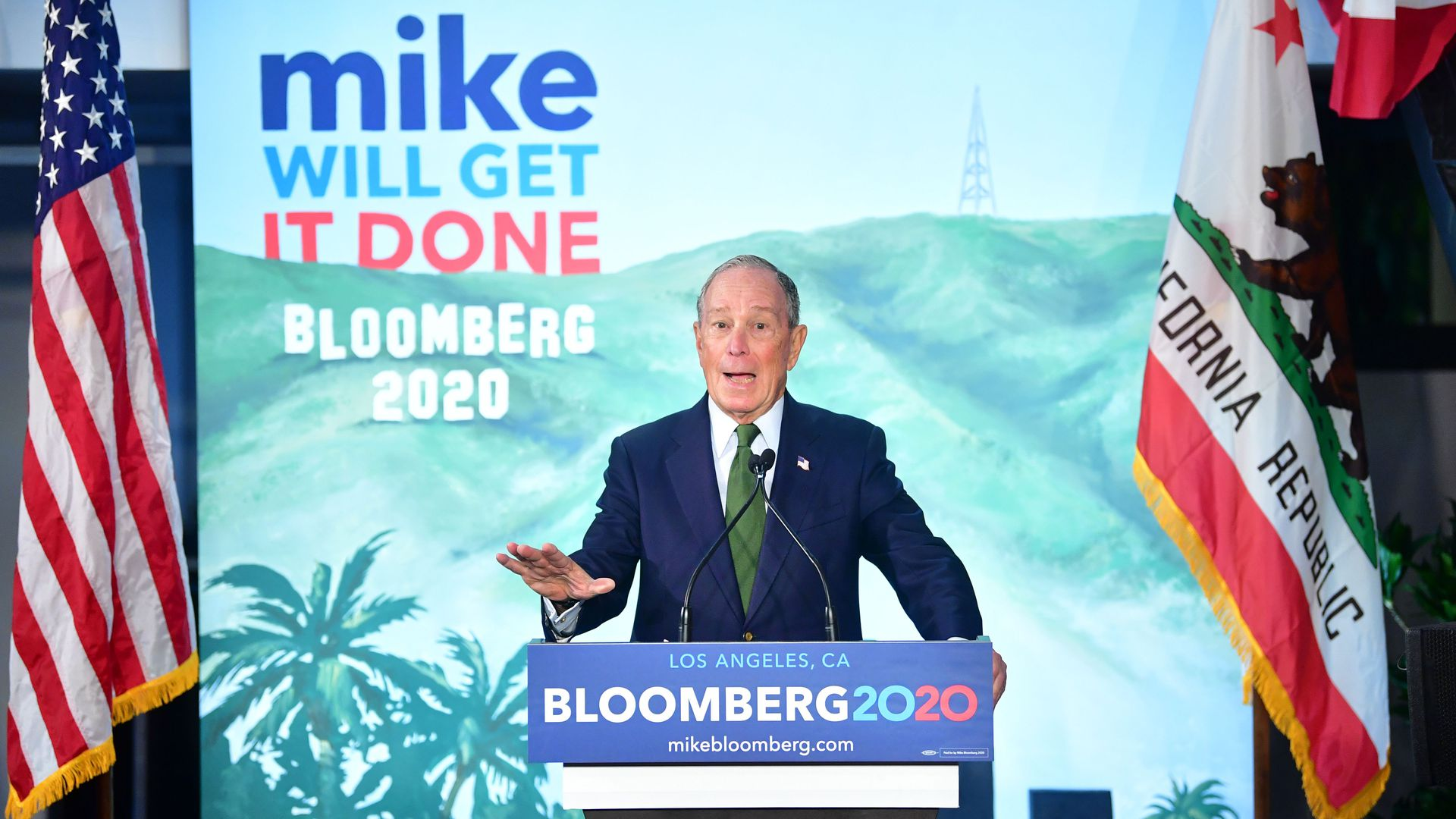 Mike Bloomberg will pay his campaign staff to support whoever becomes Democratic nominee