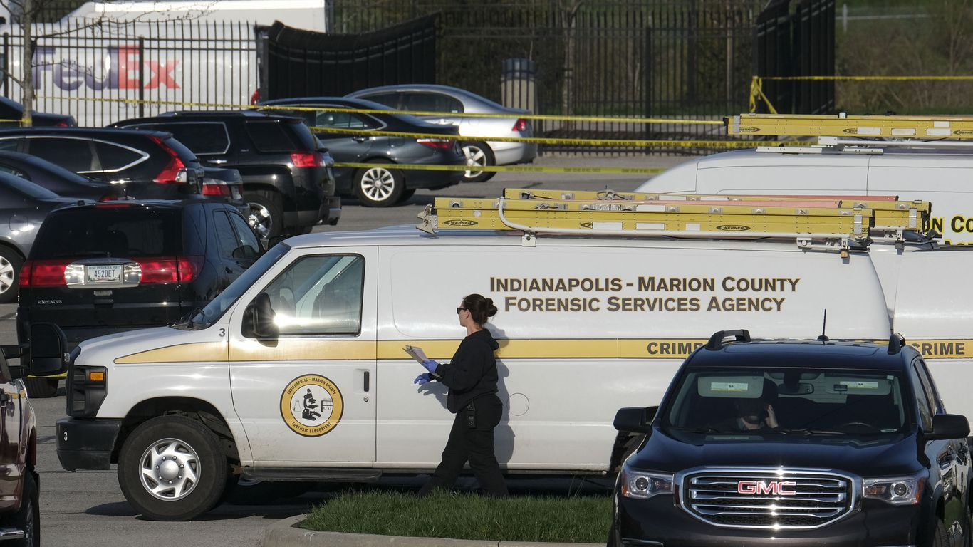 Indianapolis mass shooting suspect legally bought 2 guns, police say