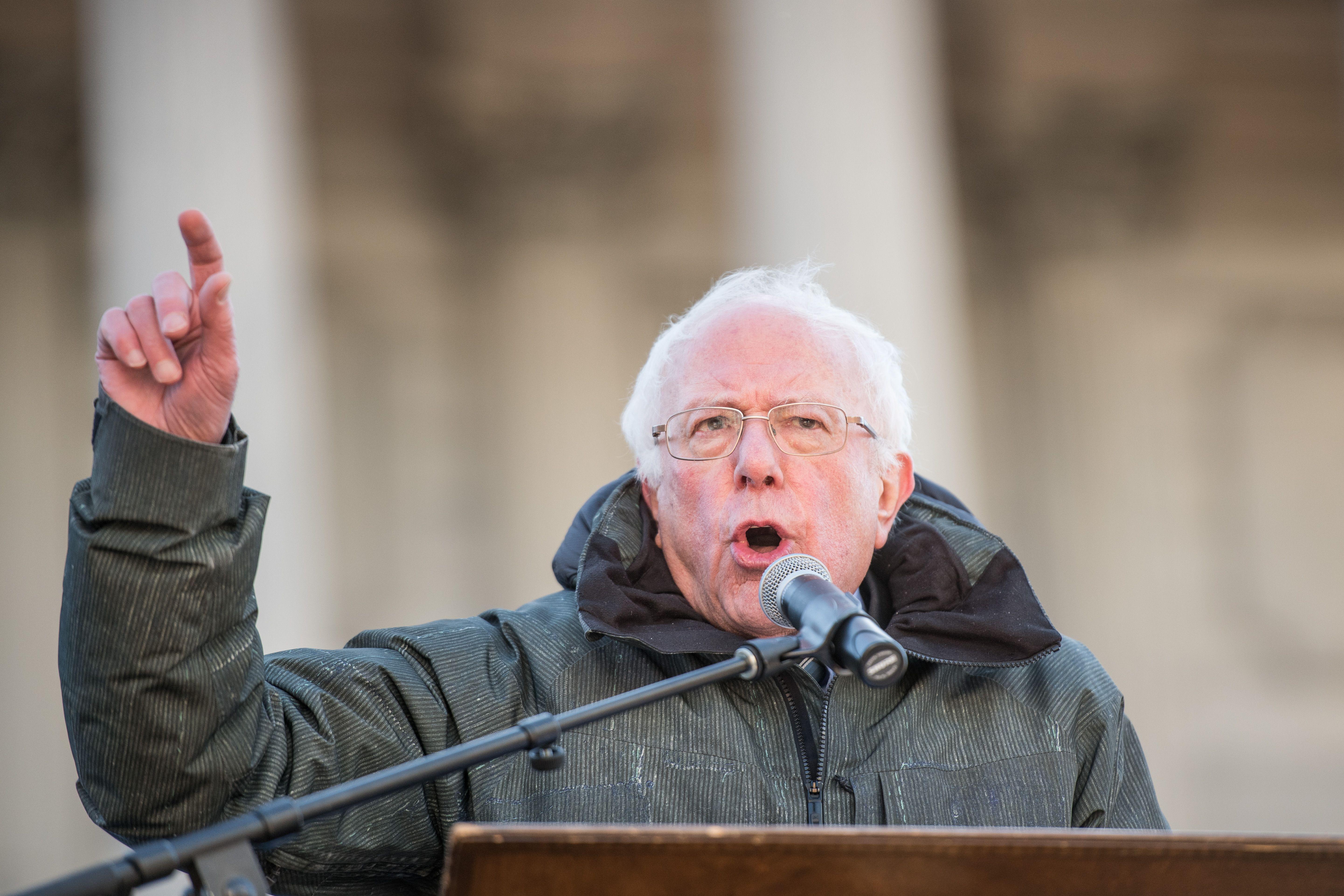 Bernie Sanders on the issues, in under 500 words