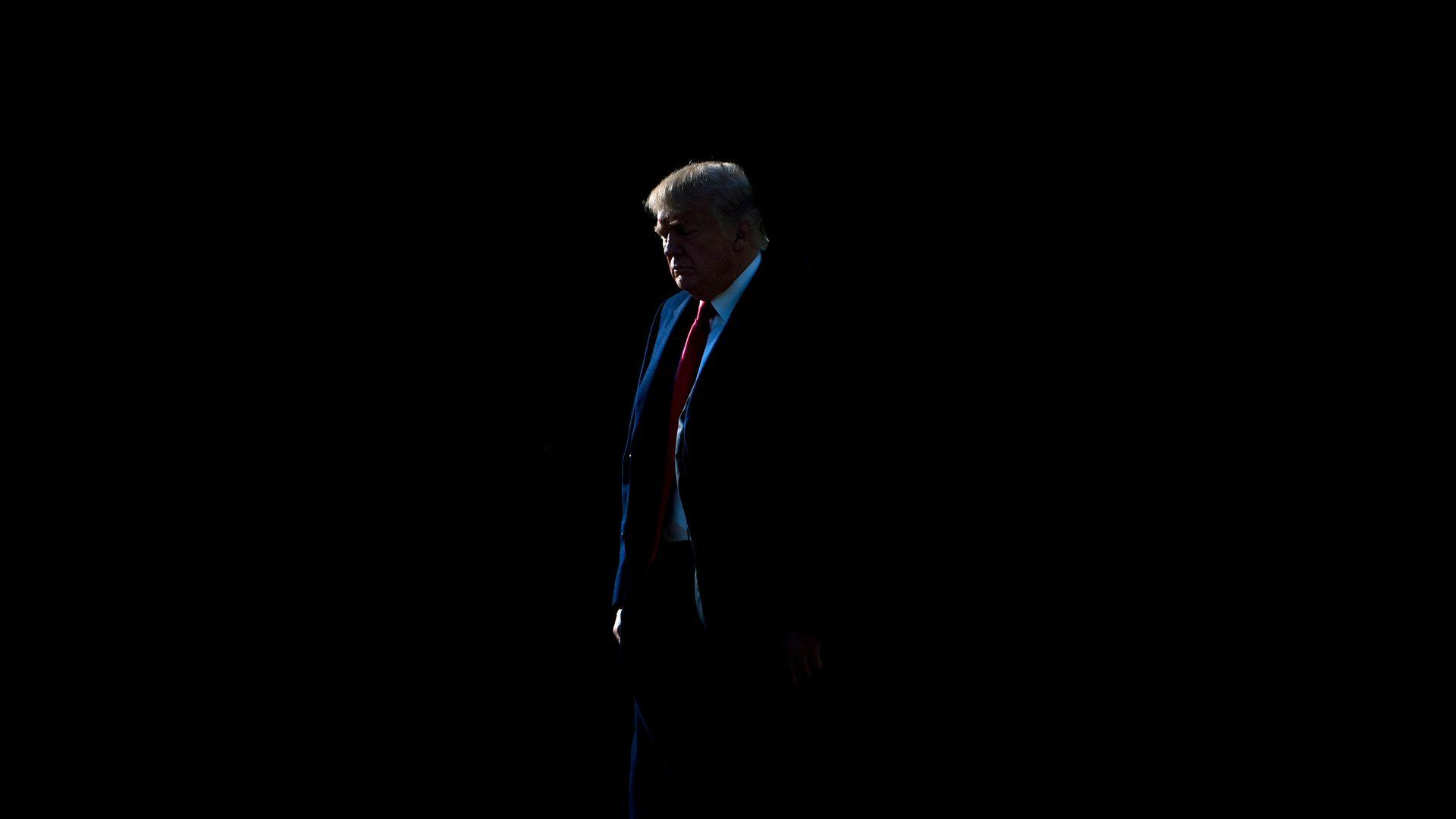 Photo of President Trump.