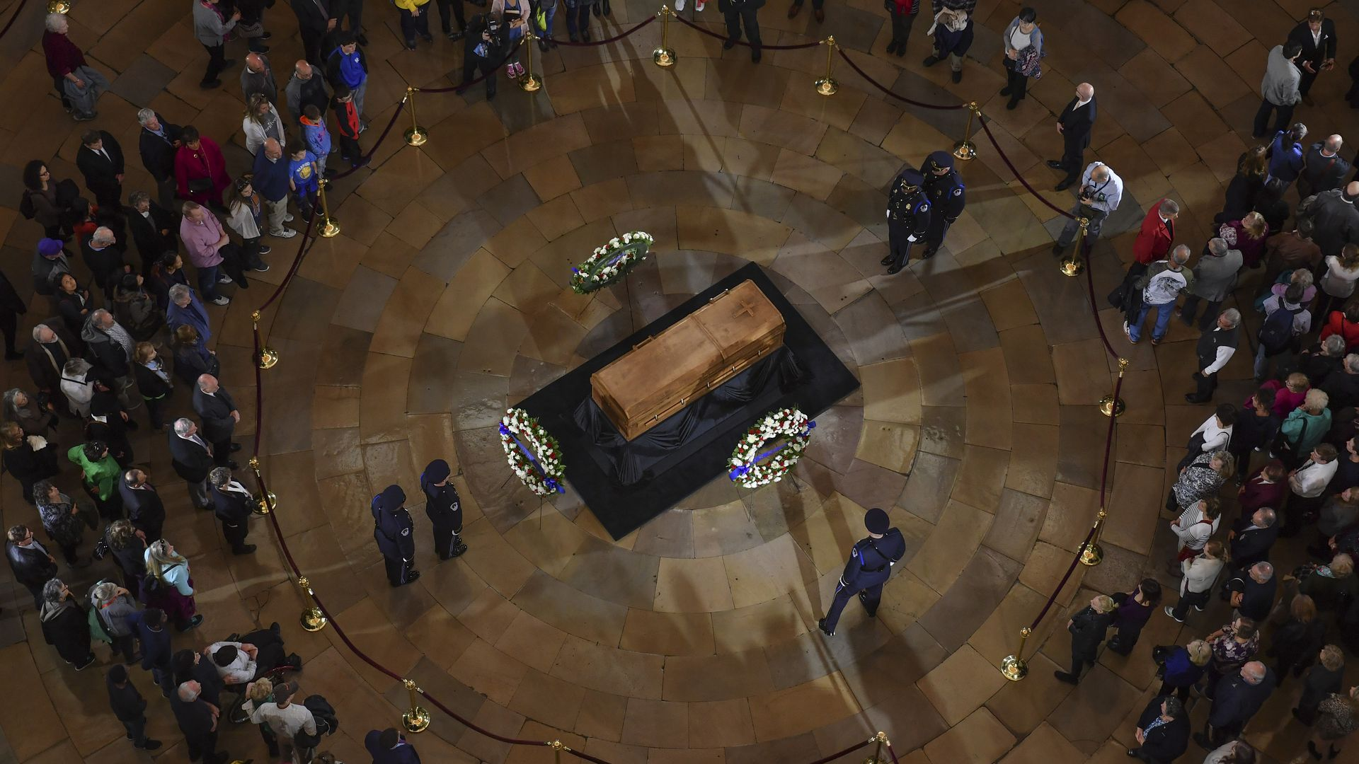 Billy Graham lying in state in Capitol