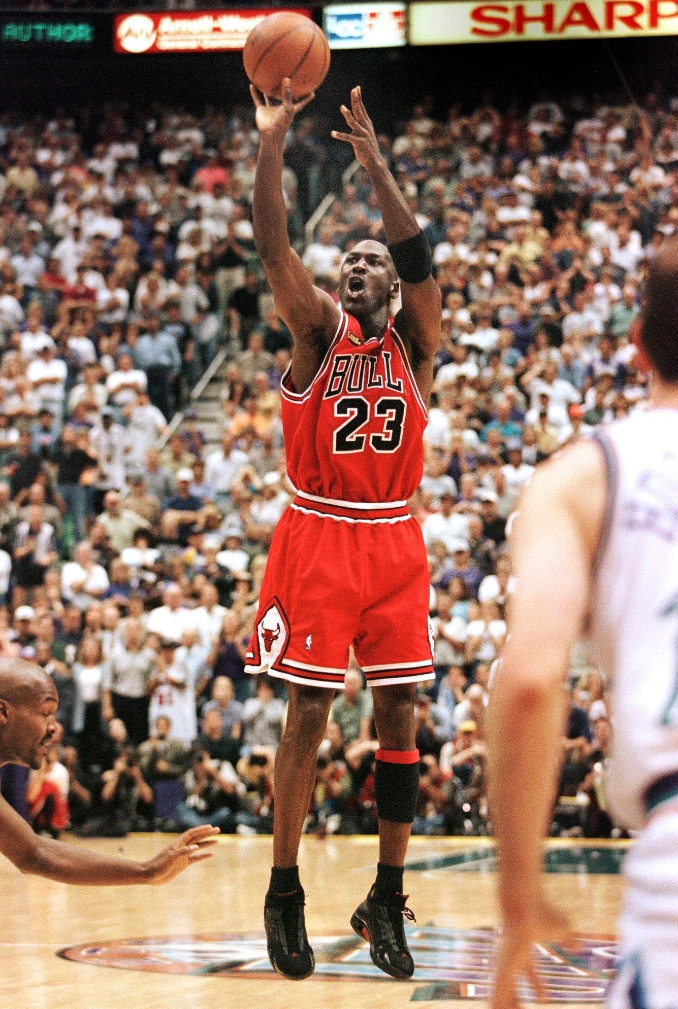Jordan's final shot